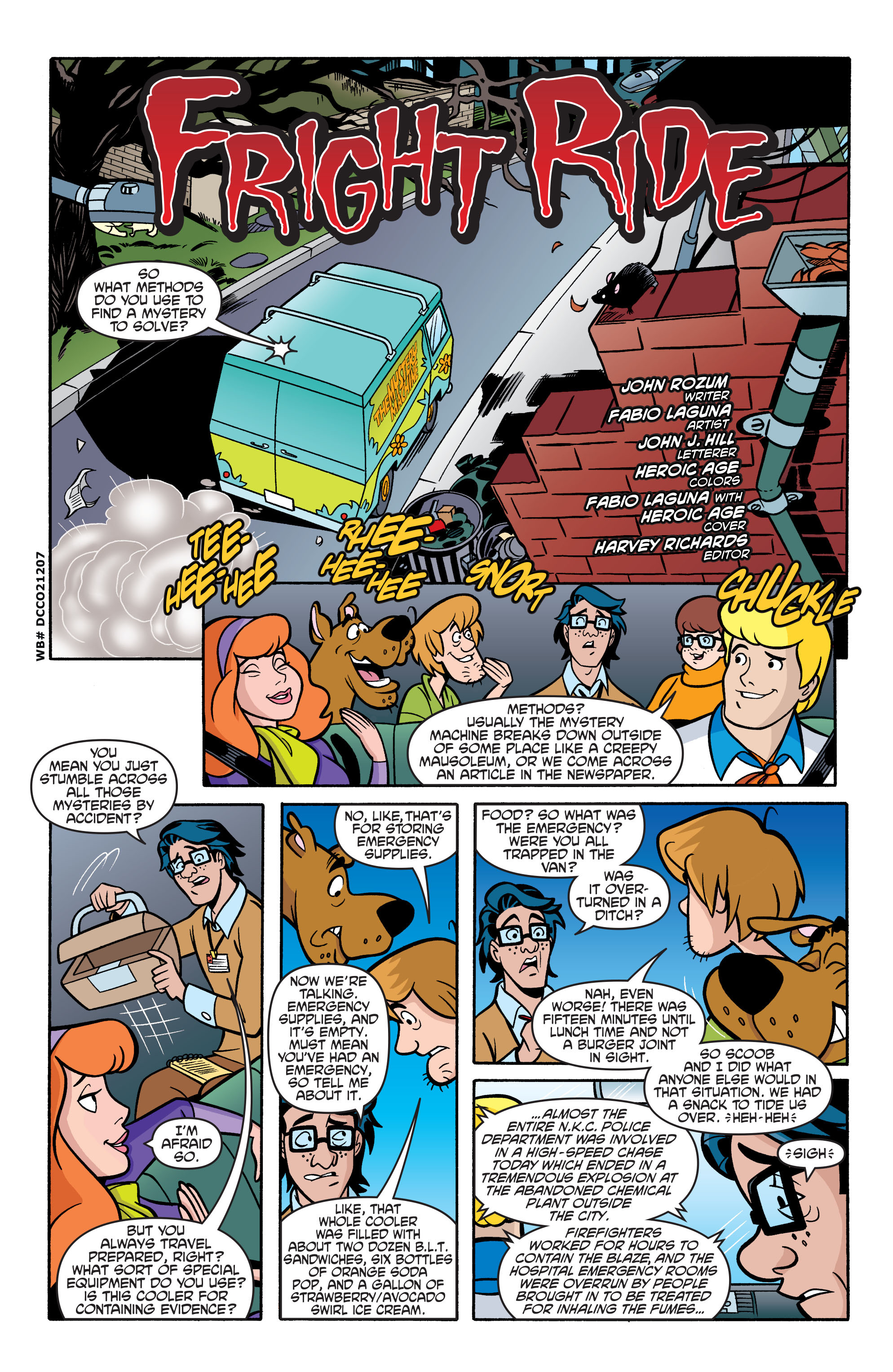 Read online Scooby-Doo: Where Are You? comic -  Issue #69 - 13