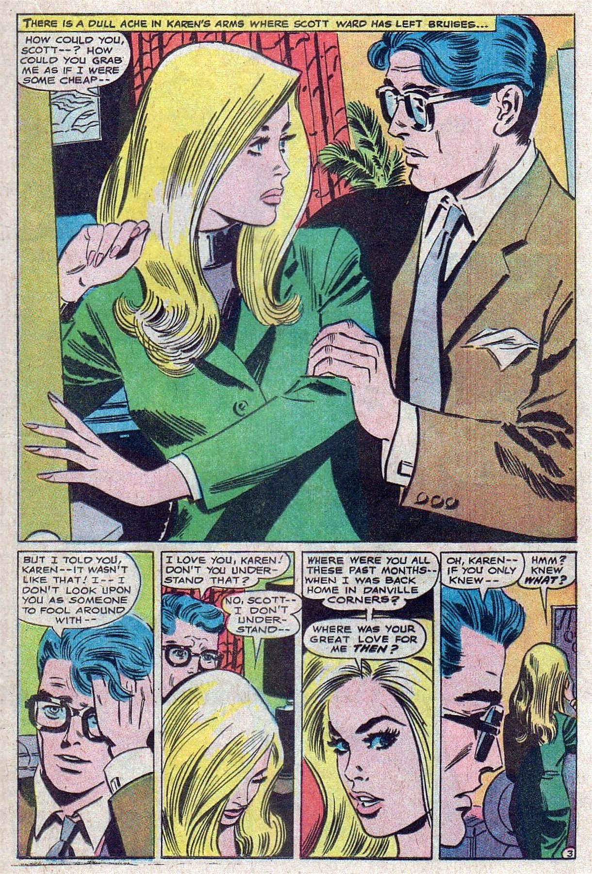 Read online Secret Hearts comic -  Issue #129 - 21