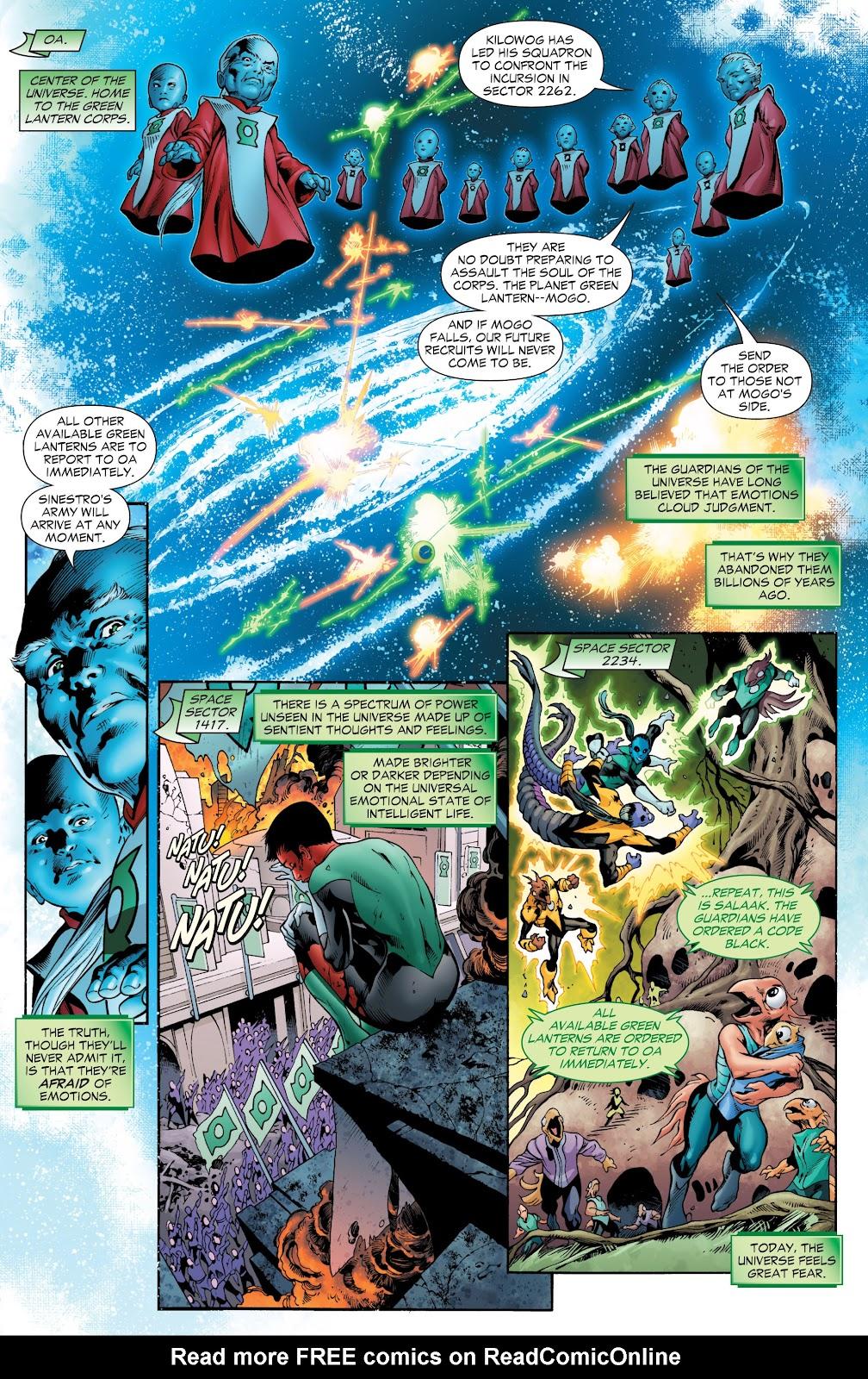 Green Lantern: The Sinestro Corps War Full #1 - English 94