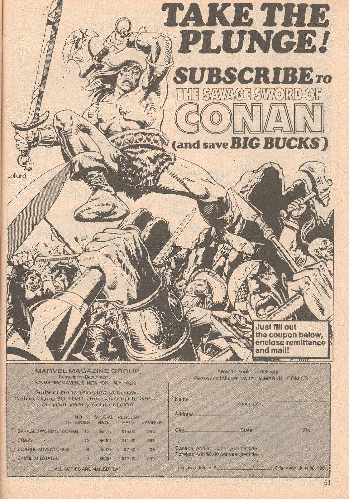 The Savage Sword Of Conan Issue #65 #66 - English 51