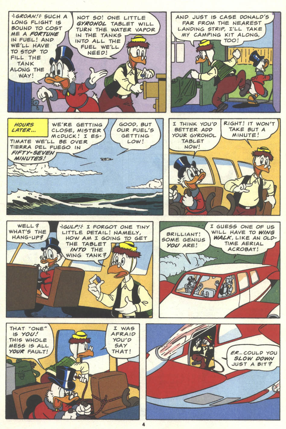 Uncle Scrooge (1953) Issue #259 #259 - English 5