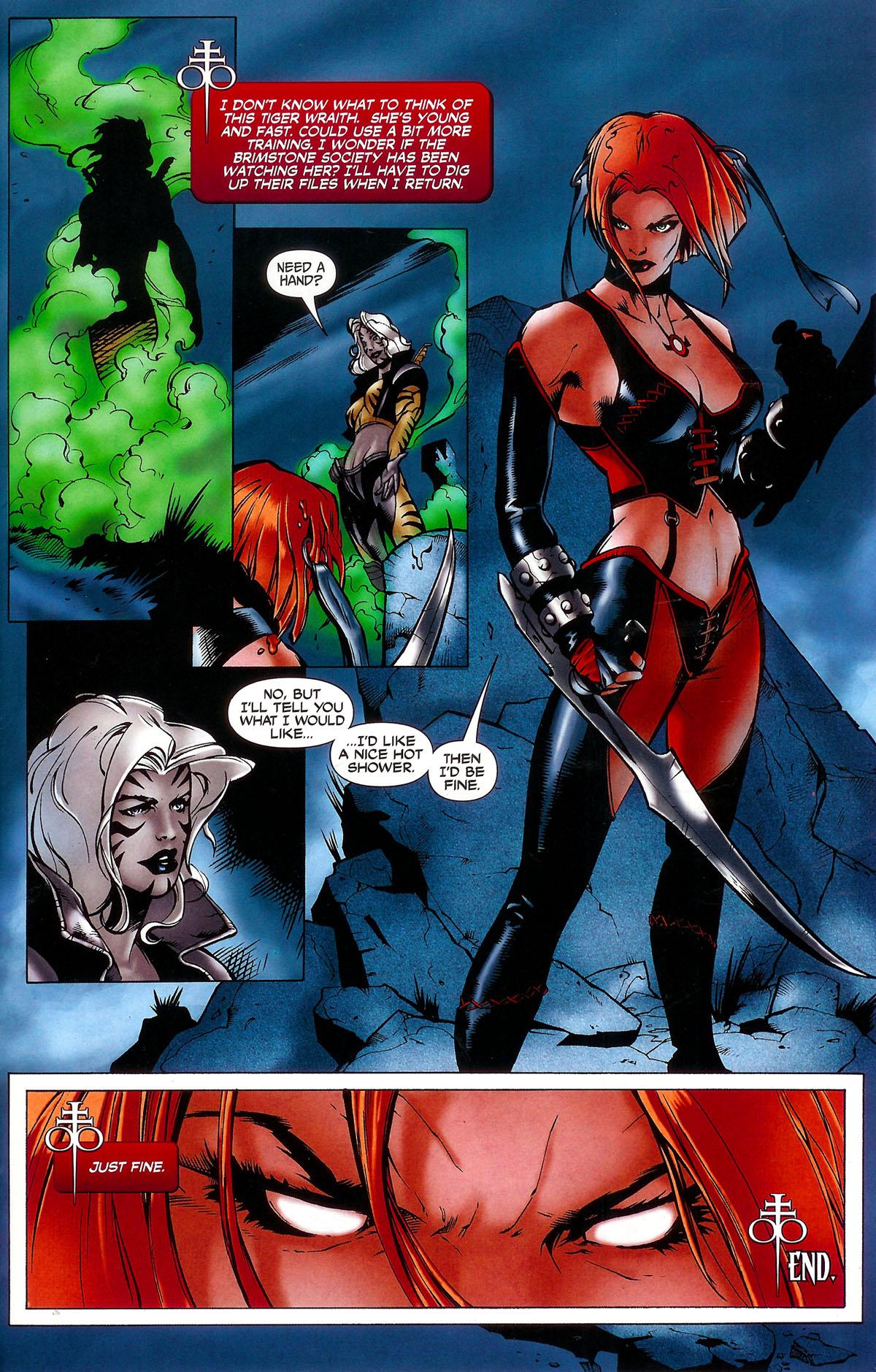 Read online BloodRayne: Dark Soul comic -  Issue # Full - 22