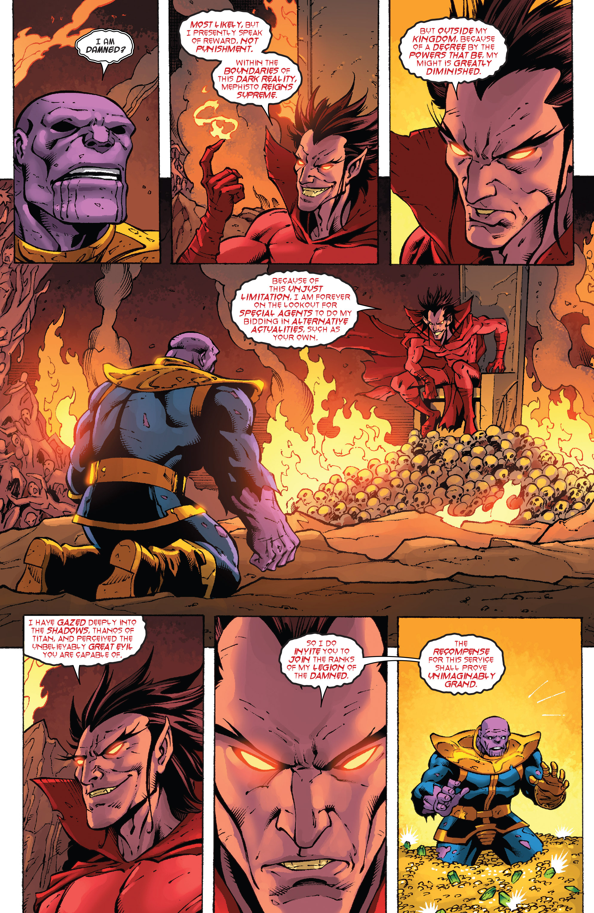 Read online Thanos Annual comic -  Issue # Annual - 9
