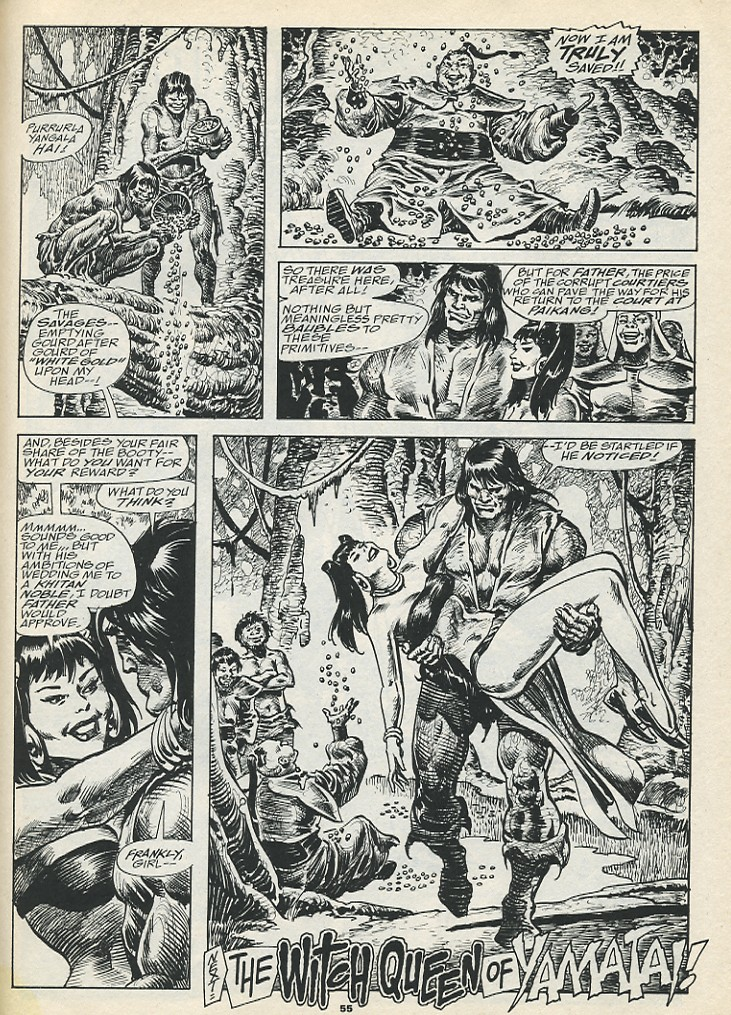 The Savage Sword Of Conan Issue #193 #194 - English 57