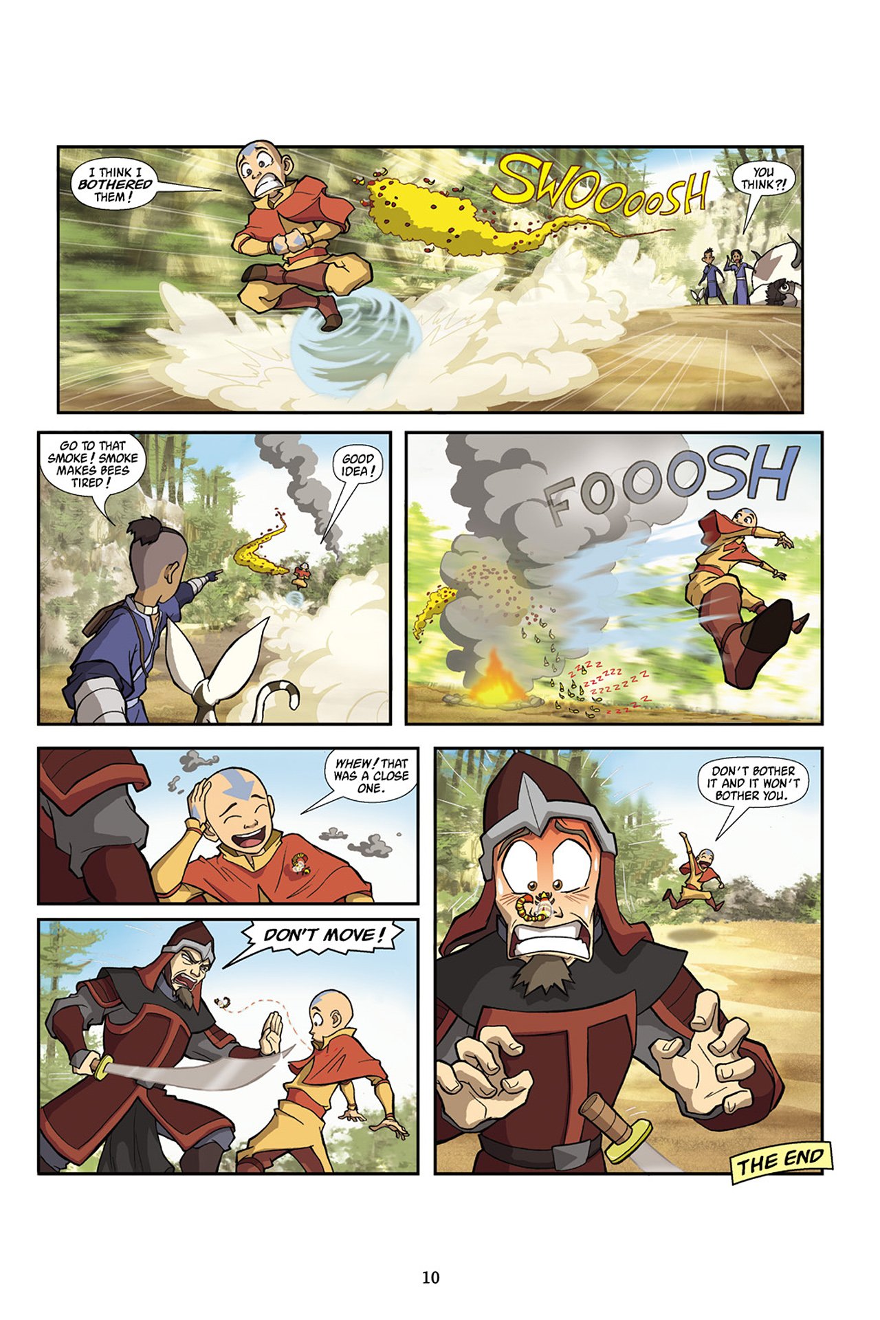 Nickelodeon Avatar: The Last Airbender - The Lost Adventures chap full pic 11
