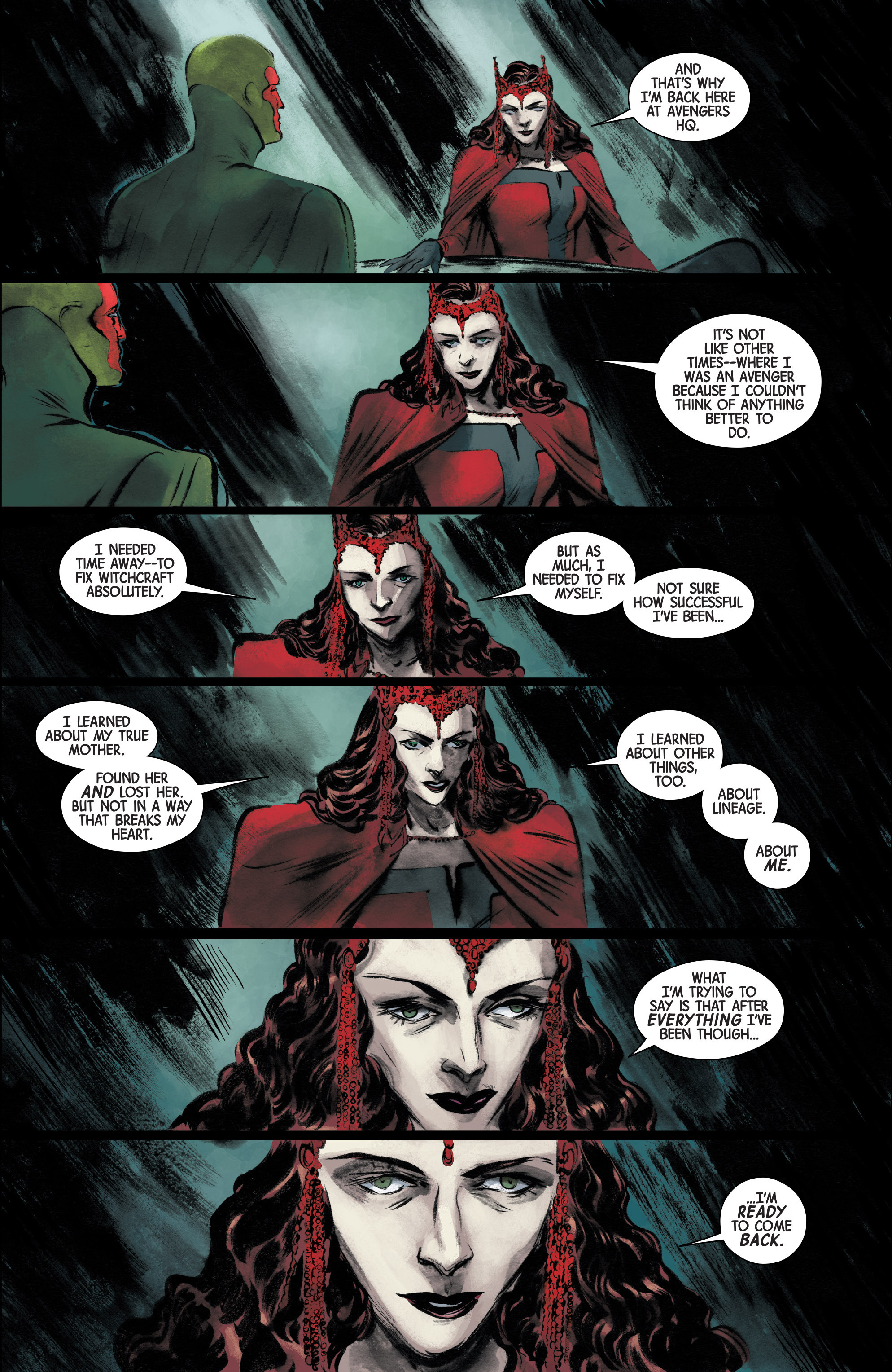 Read online Scarlet Witch (2016) comic -  Issue #15 - 18