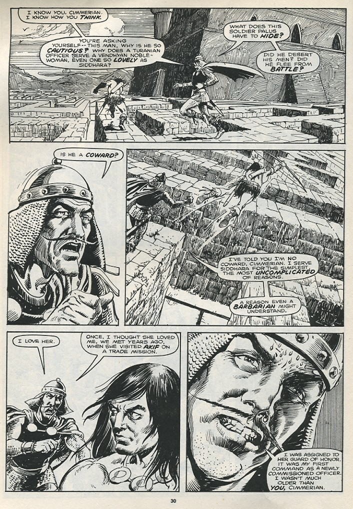 The Savage Sword Of Conan Issue #174 #175 - English 32