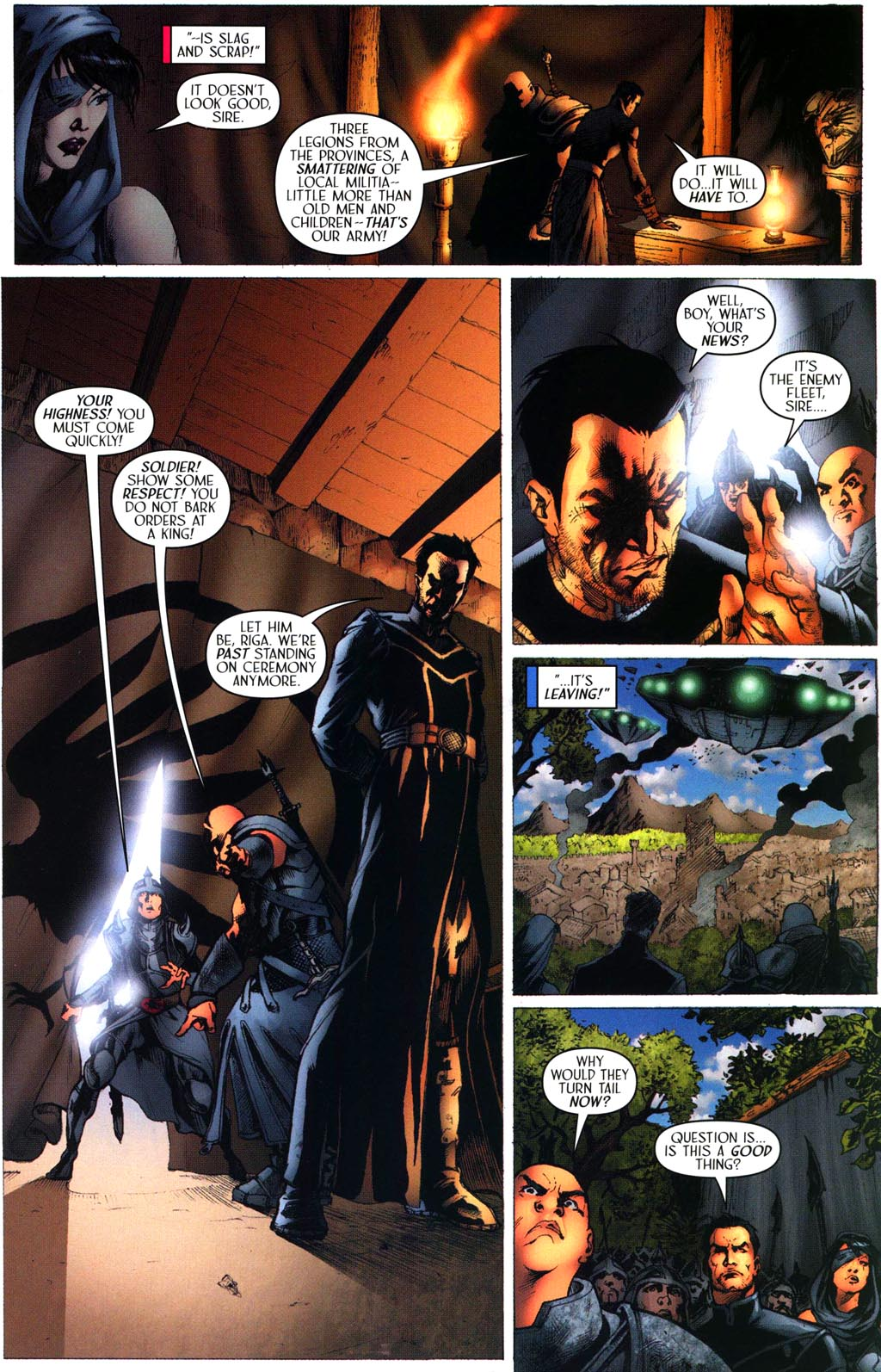 Read online Scion comic -  Issue #43 - 17