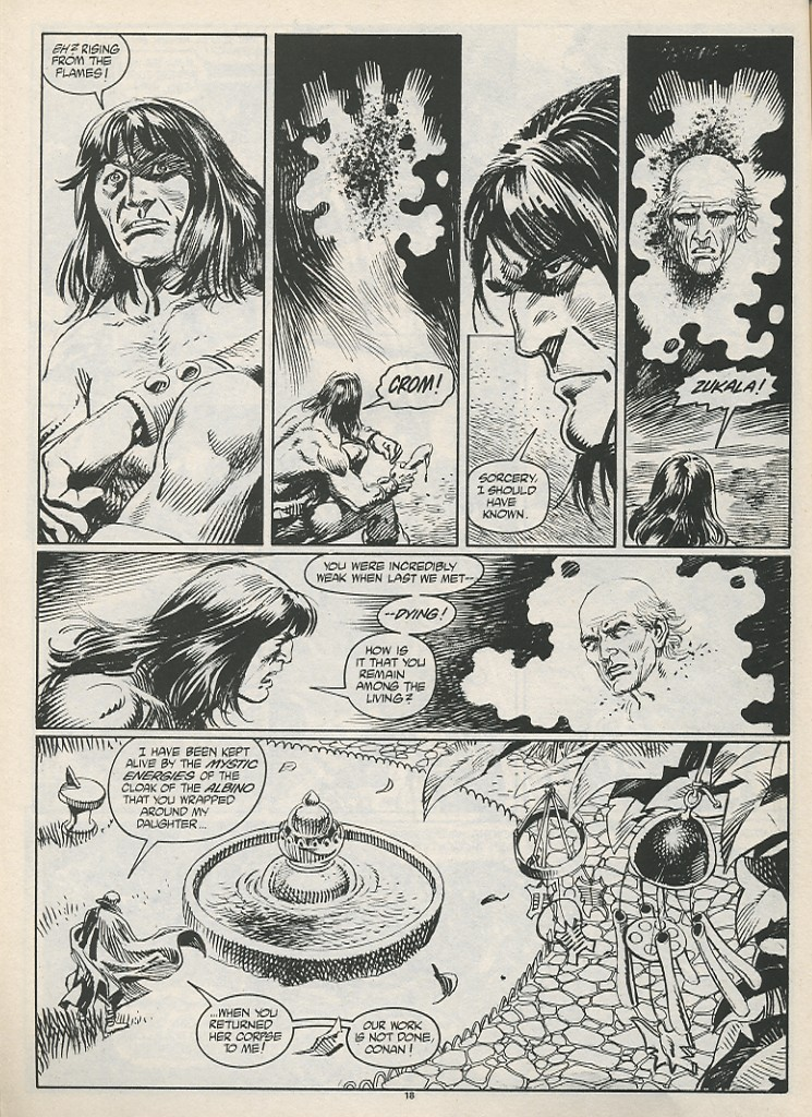 The Savage Sword Of Conan Issue #189 #190 - English 20