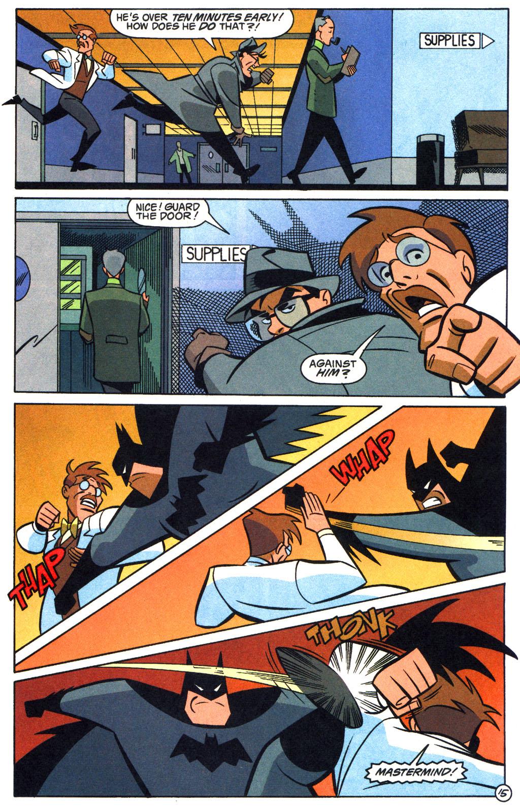 Batman: Gotham Adventures 13 Page 16