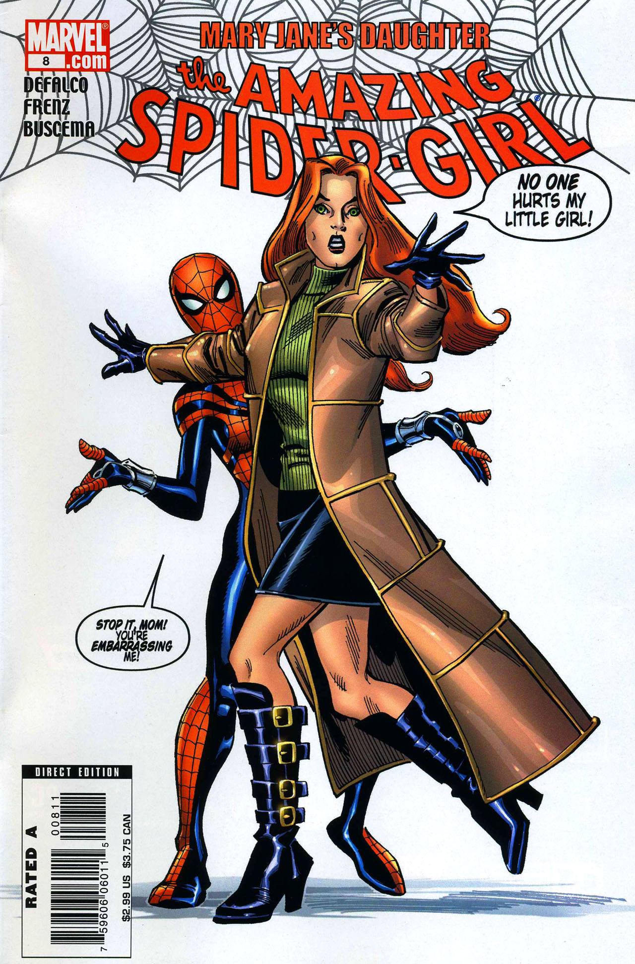 Amazing Spider-Girl 8 Page 1