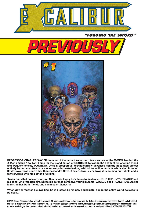 Excalibur (2004) Issue #2 #2 - English 2