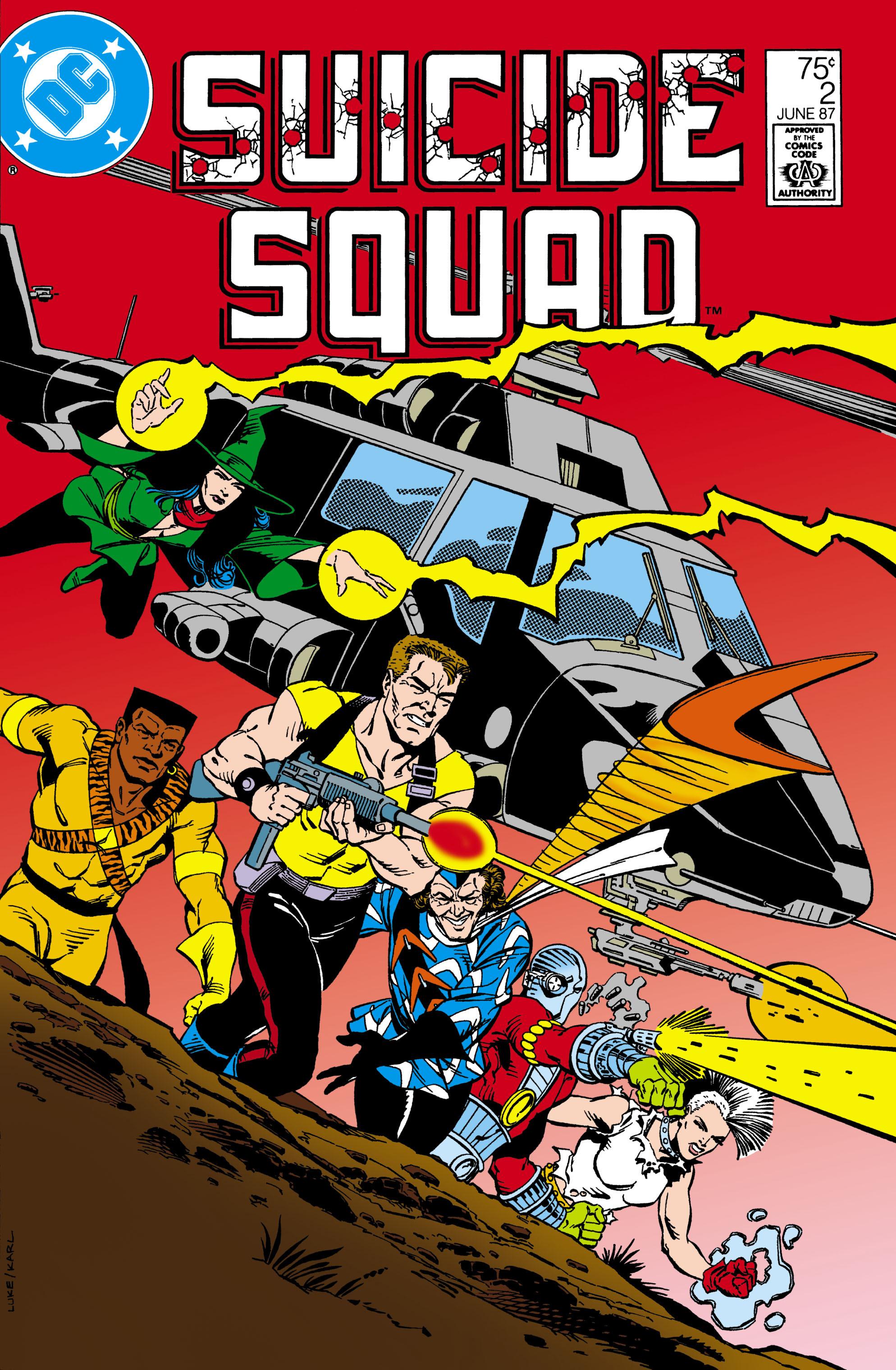 Suicide Squad (1987) 2 Page 1