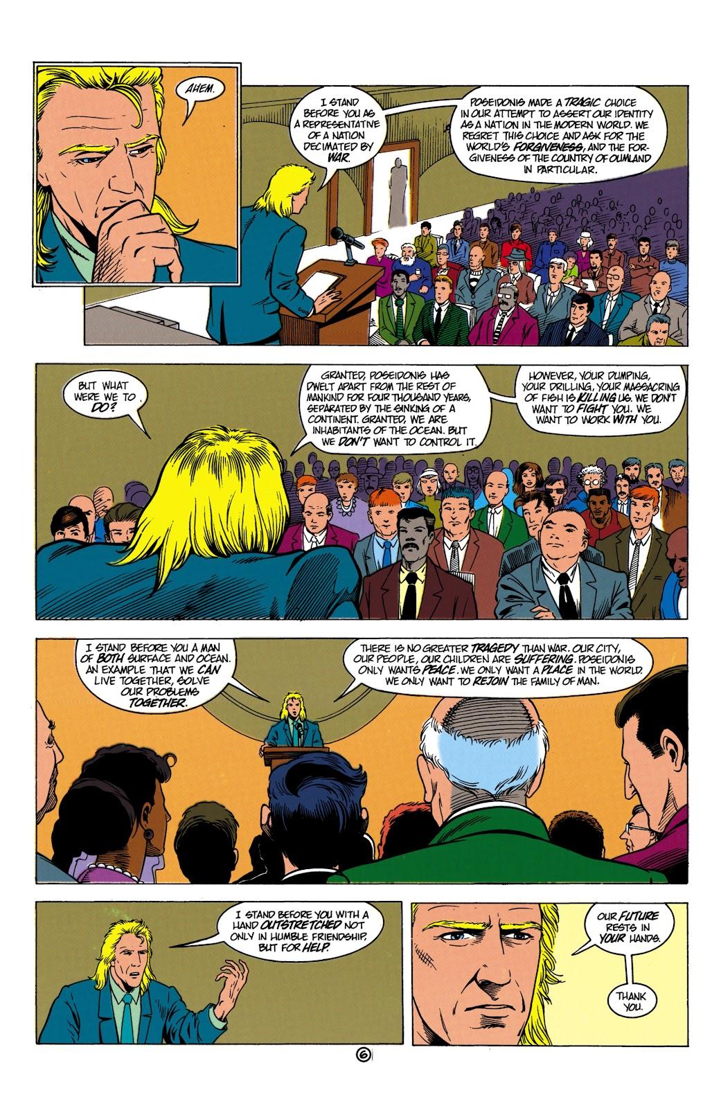 Aquaman (1991) Issue #8 #8 - English 7