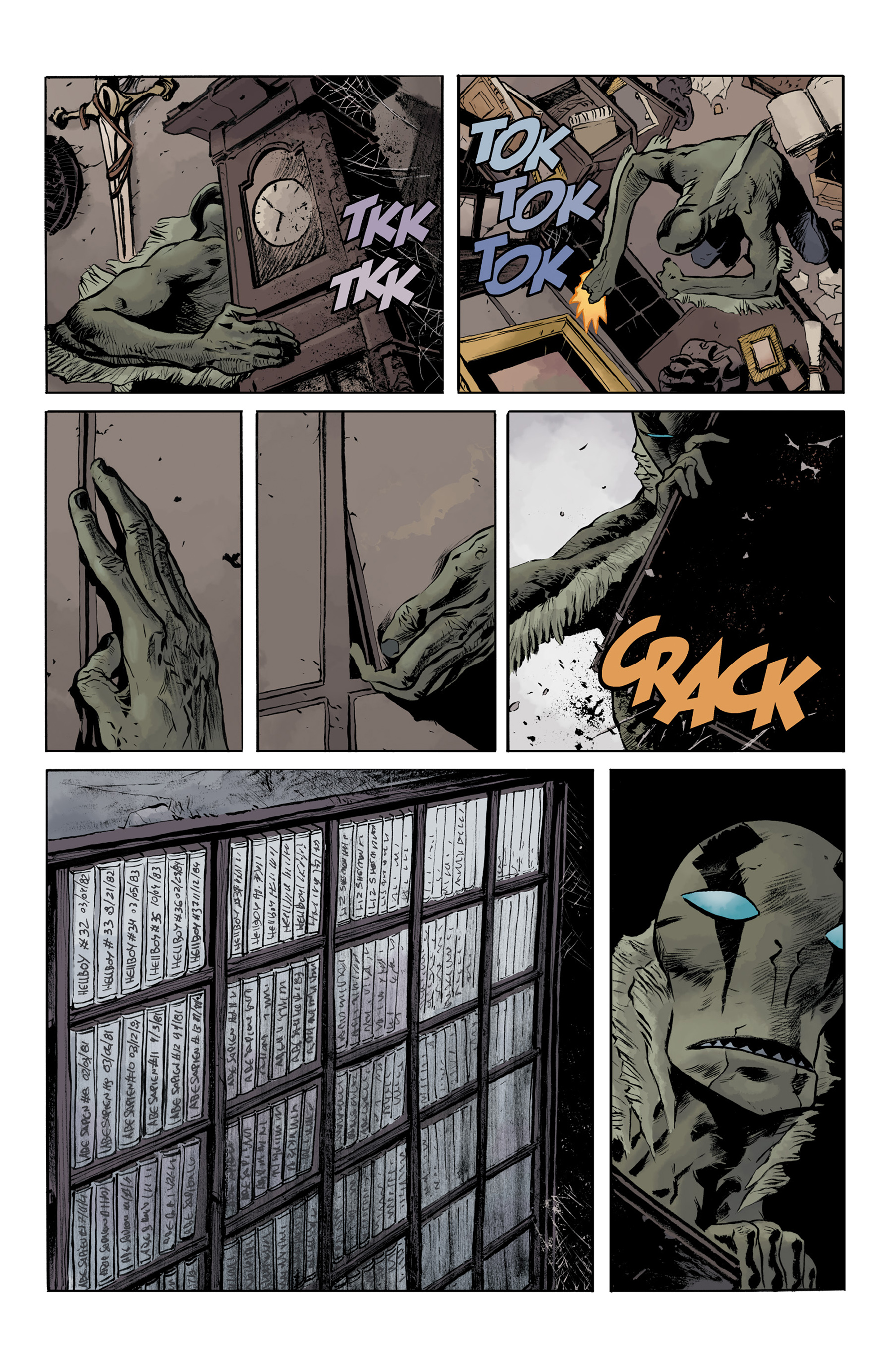 Read online Abe Sapien comic -  Issue #32 - 5