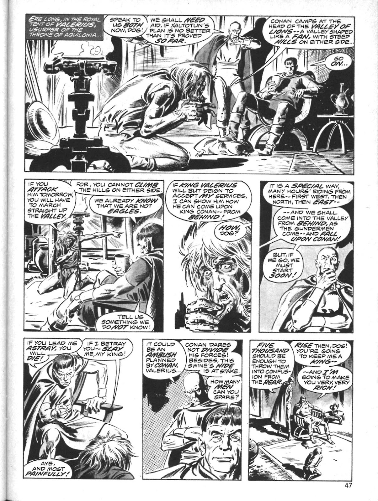 The Savage Sword Of Conan Issue #10 #11 - English 36
