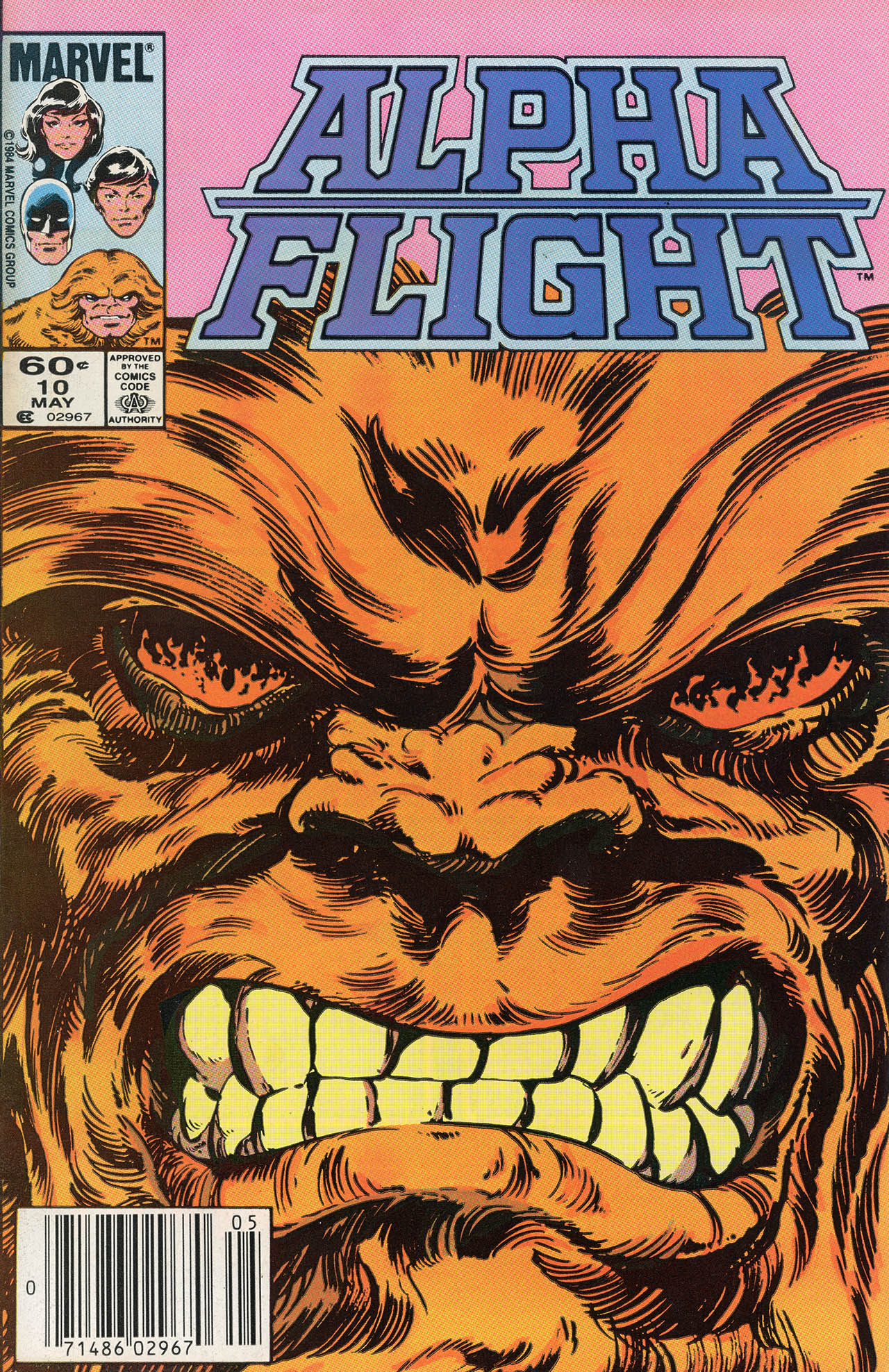 Alpha Flight (1983) 10 Page 1