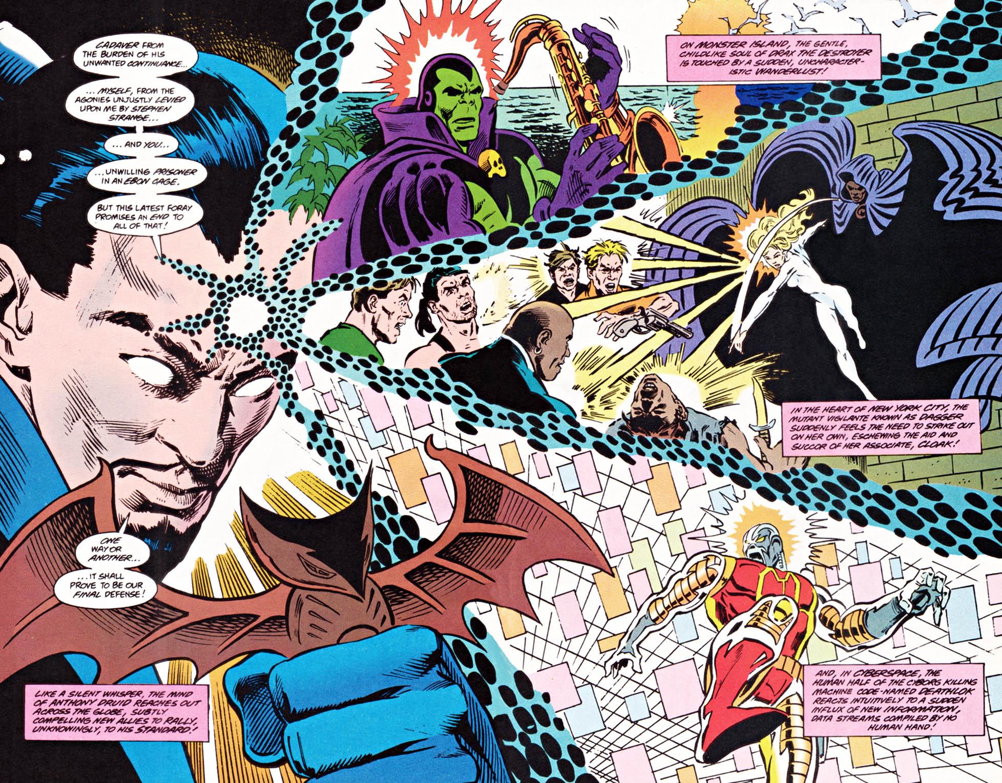 Read online Secret Defenders comic -  Issue #22 - 19