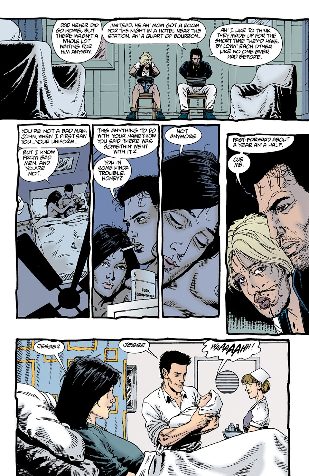 Preacher Issue #9 #18 - English 8