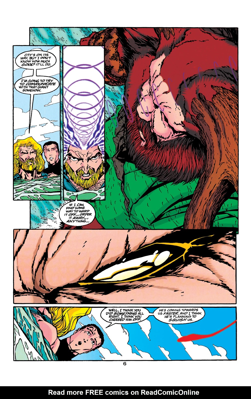 Aquaman (1994) Issue #43 #49 - English 6