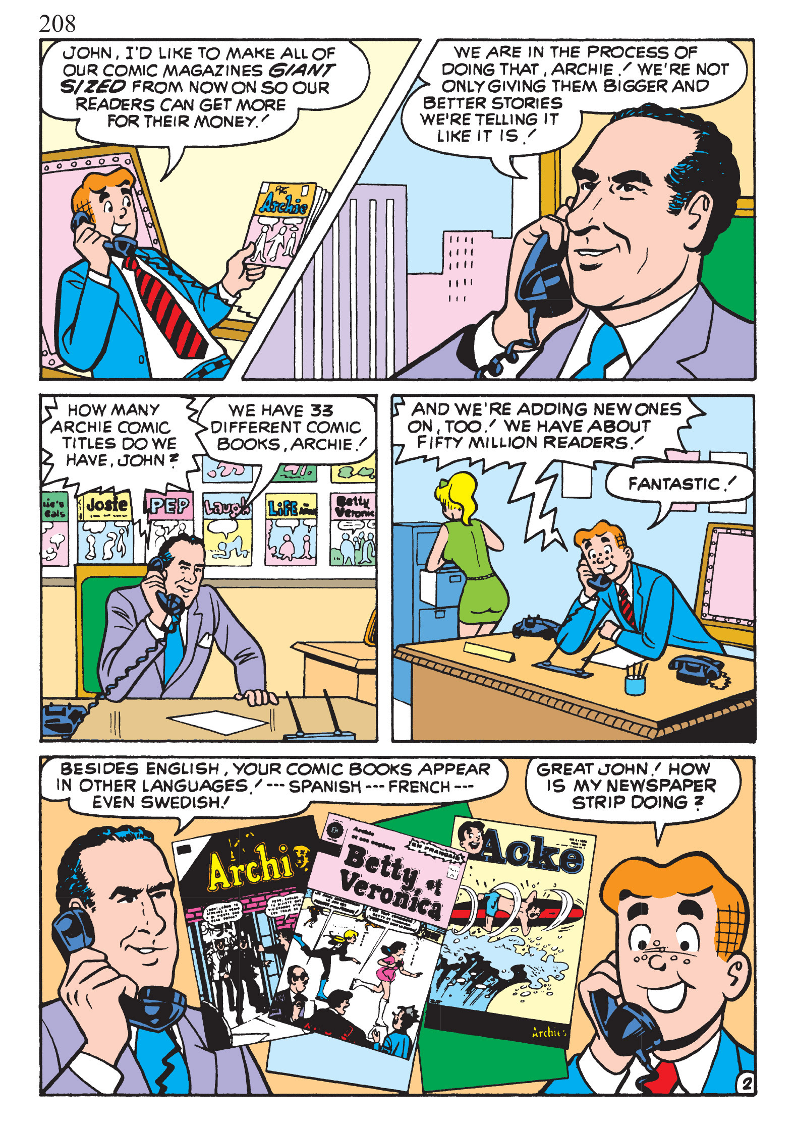 Read online The Best of Archie Comics comic -  Issue # TPB 1 (Part 1) - 204