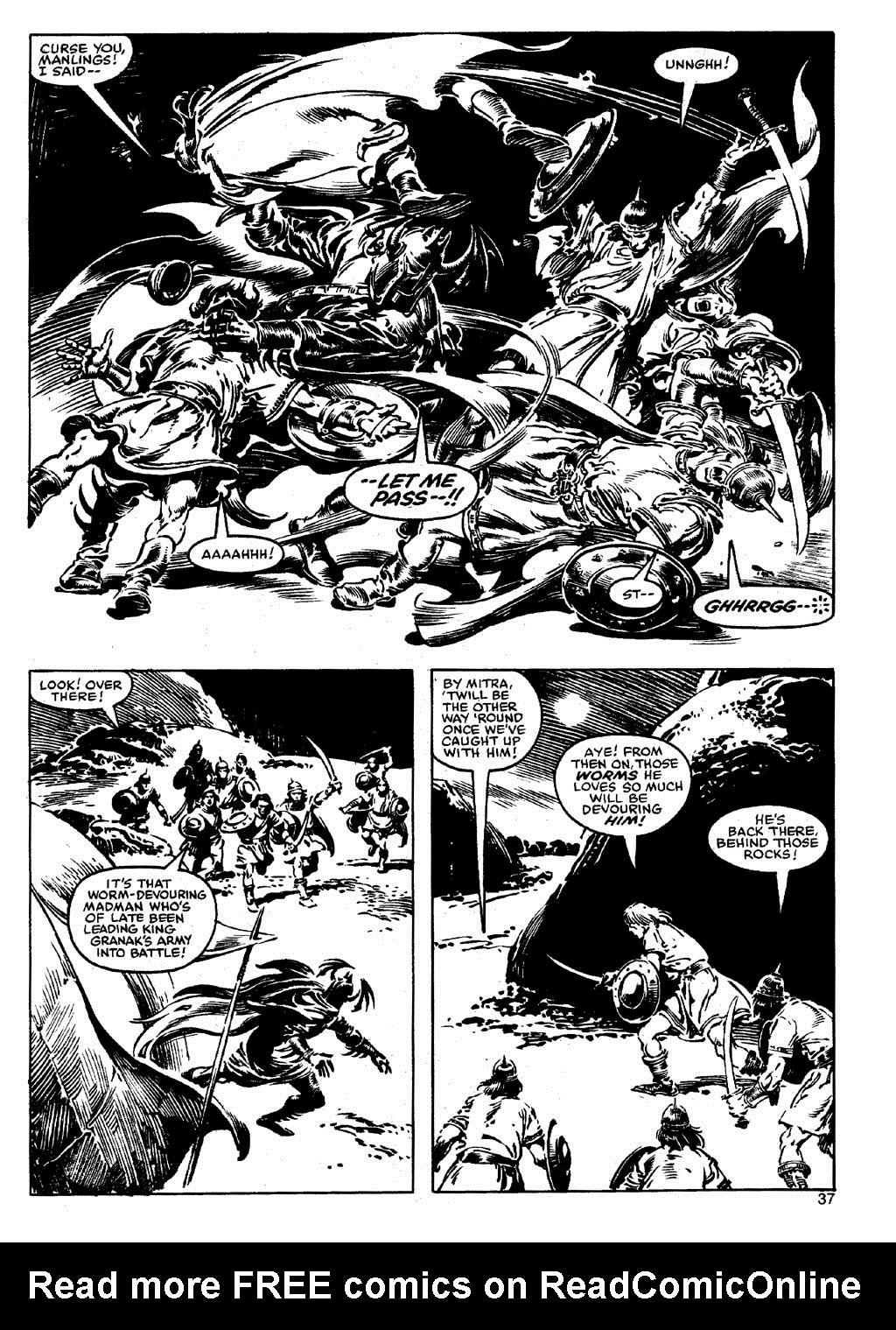 The Savage Sword Of Conan Issue #90 #91 - English 36
