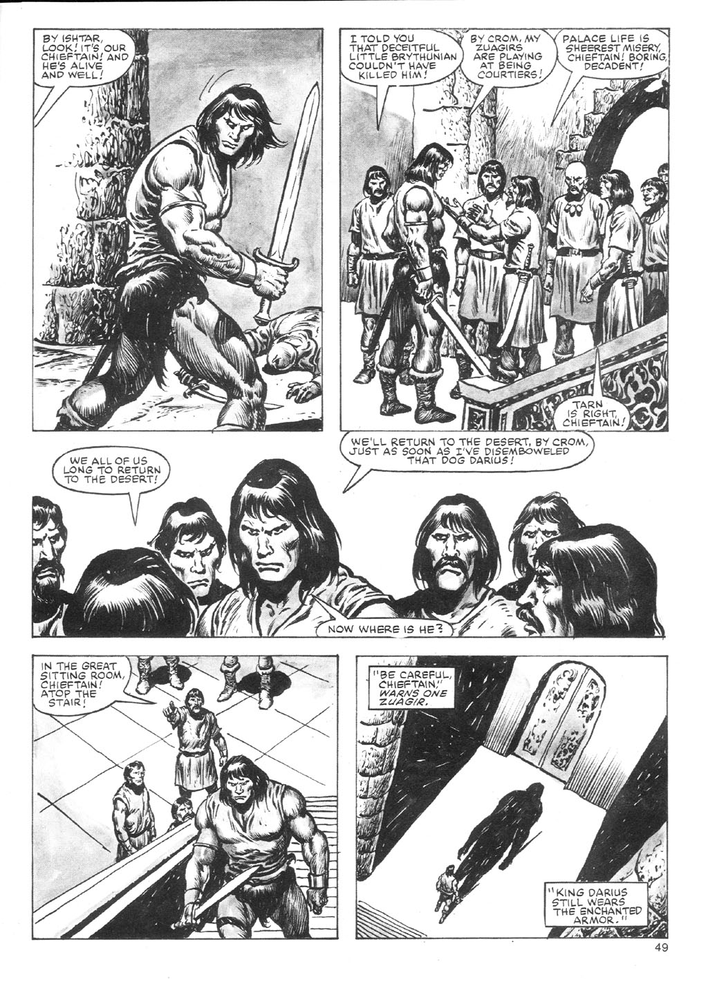 The Savage Sword Of Conan Issue #87 #88 - English 49