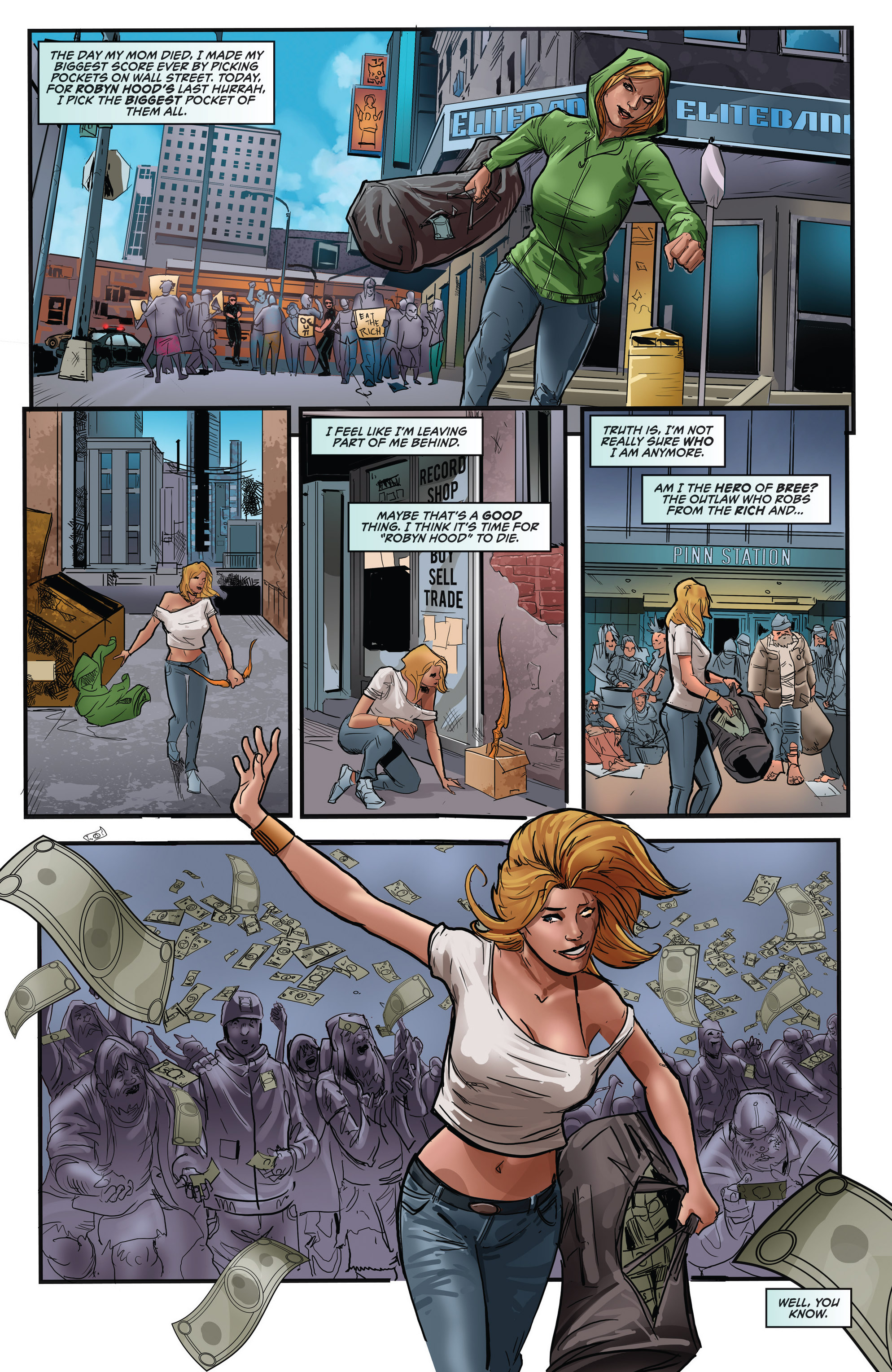 Read online Grimm Fairy Tales presents Robyn Hood (2012) comic -  Issue #5 - 38