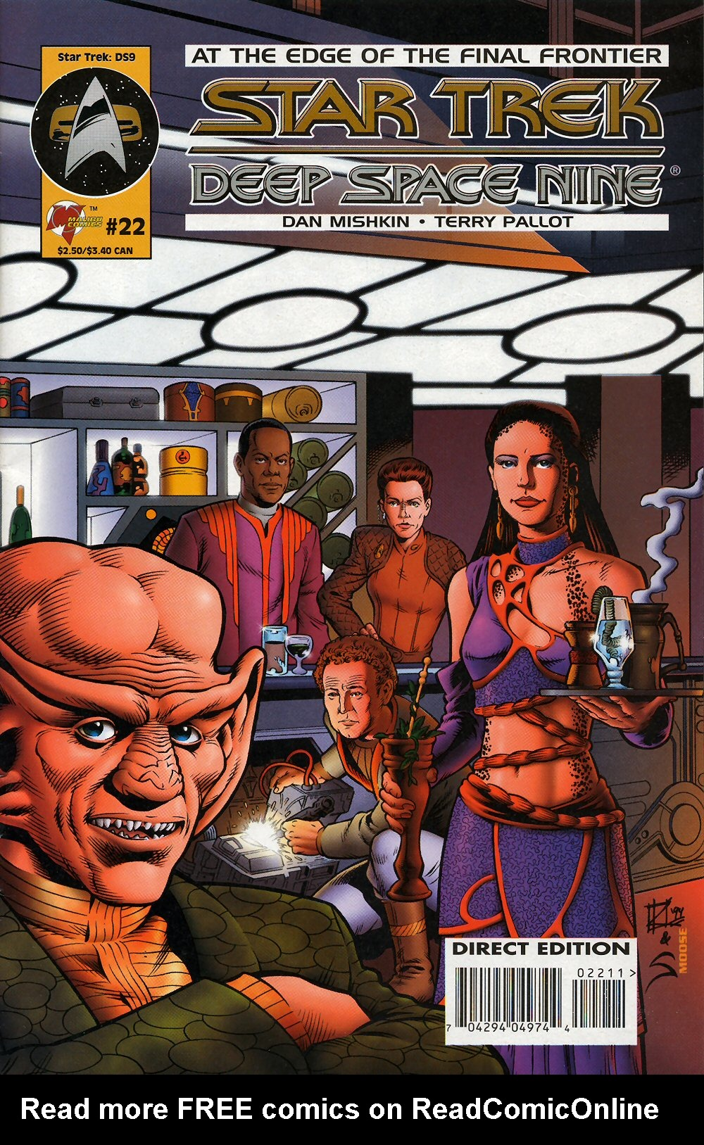 Deep Space Nine Malibu Comic Book #20 Star Trek 1995