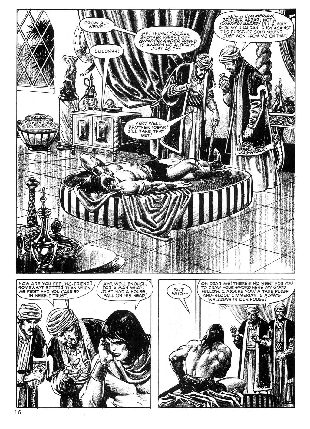 The Savage Sword Of Conan Issue #89 #90 - English 16