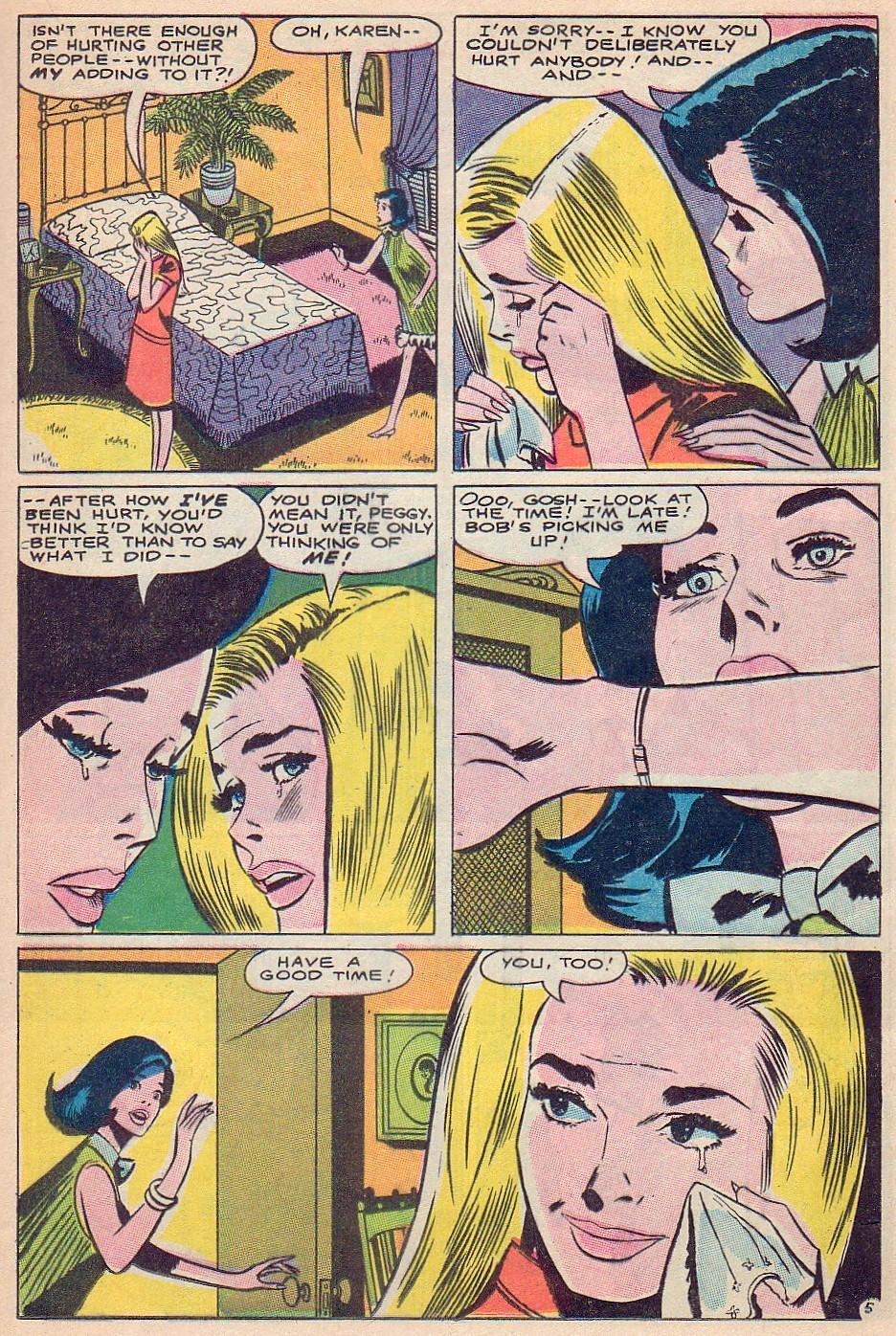 Read online Secret Hearts comic -  Issue #124 - 21