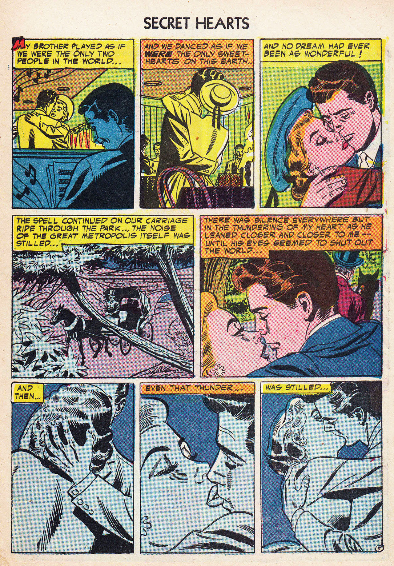 Read online Secret Hearts comic -  Issue #24 - 31