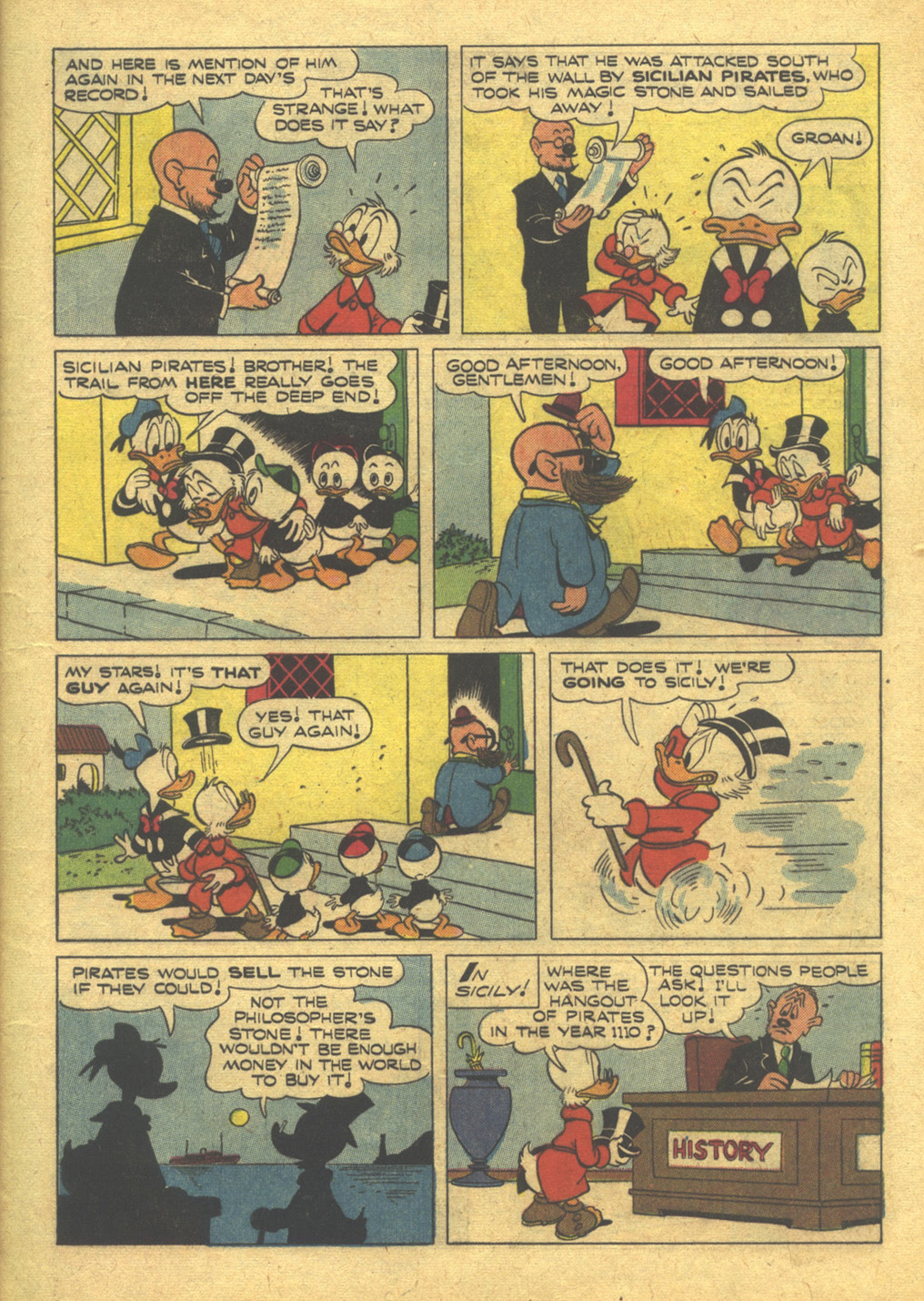 Uncle Scrooge (1953) #10 #395 - English 9