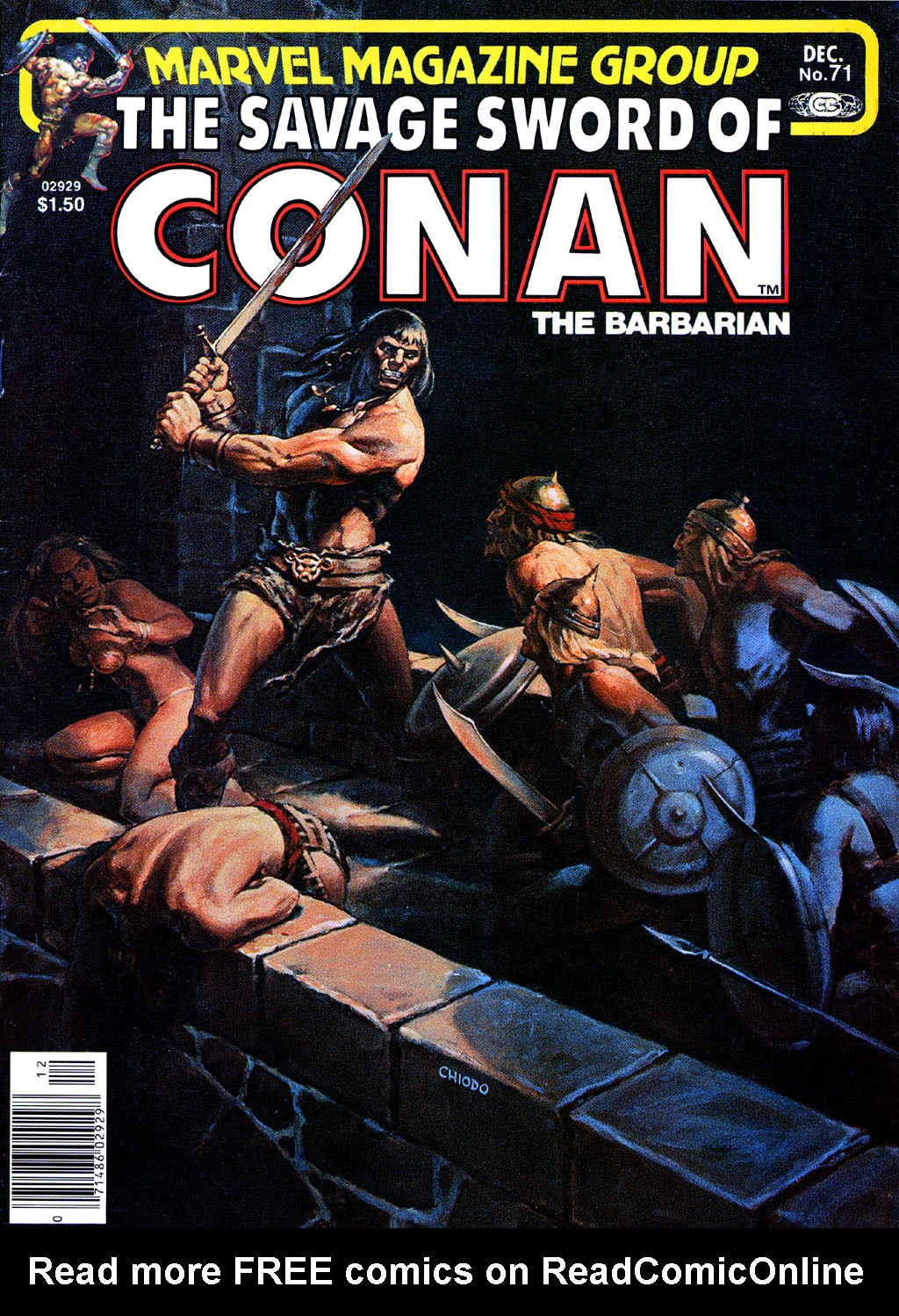 The Savage Sword Of Conan Issue #71 #72 - English 1
