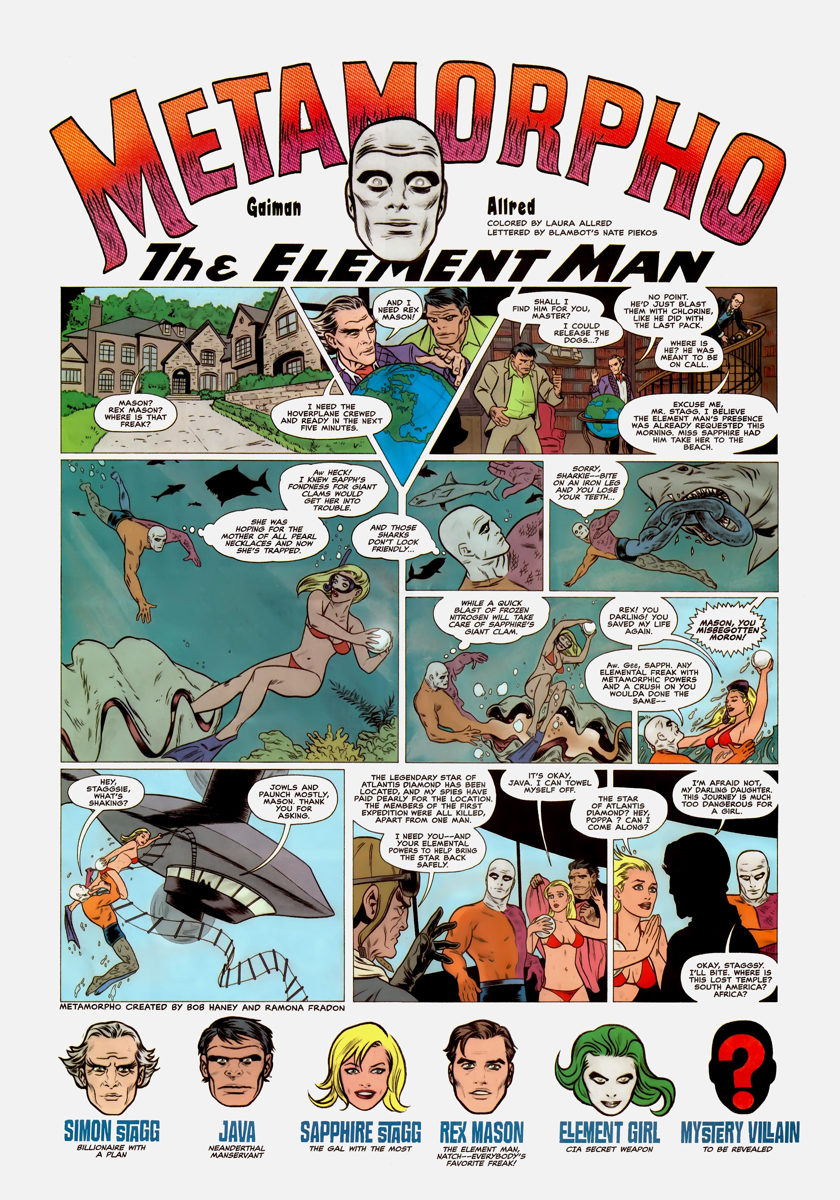 Read online Wednesday Comics comic -  Issue #1 - 8