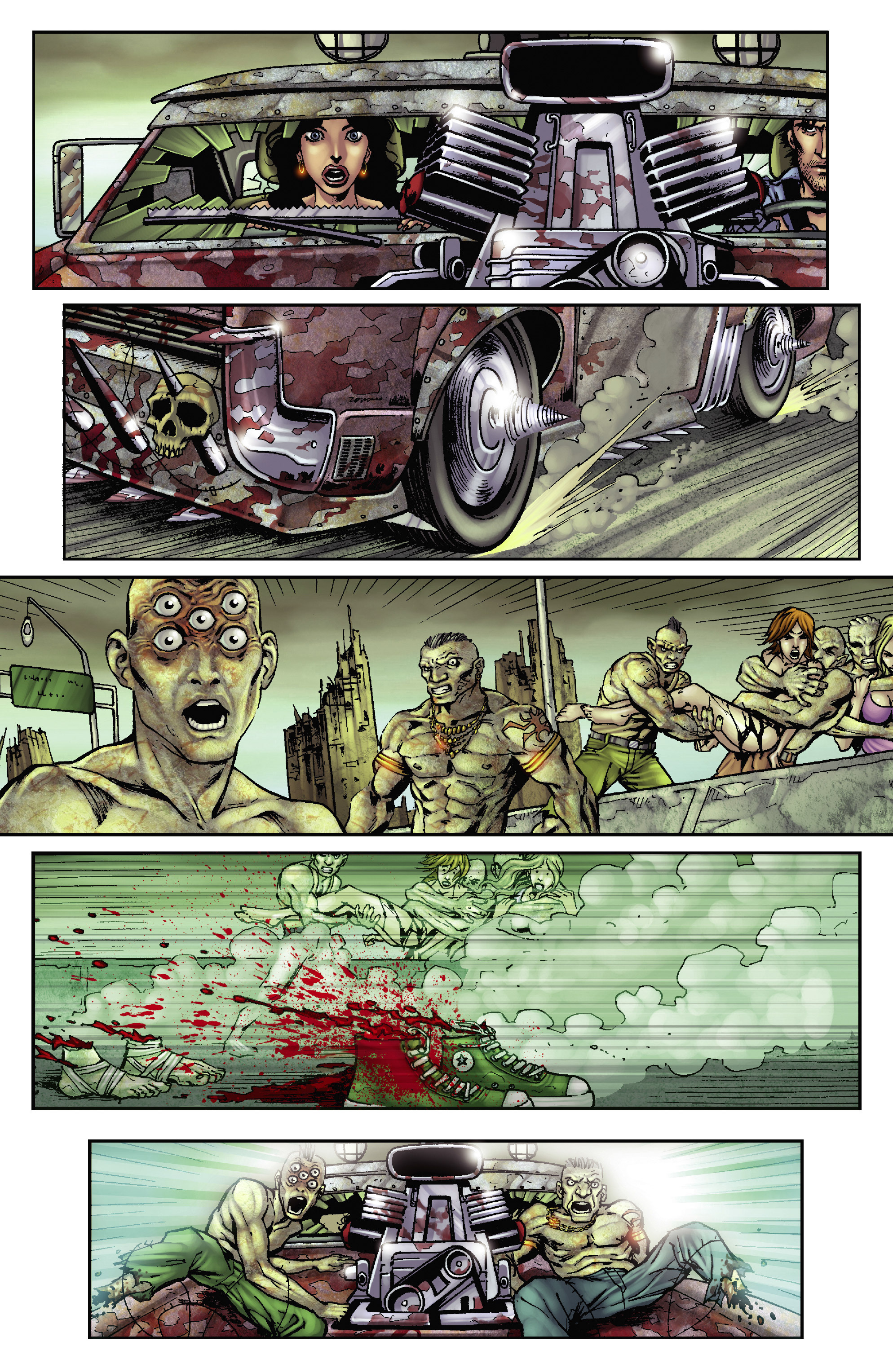 Army of Darkness: The Long Road Home TPB Page 32