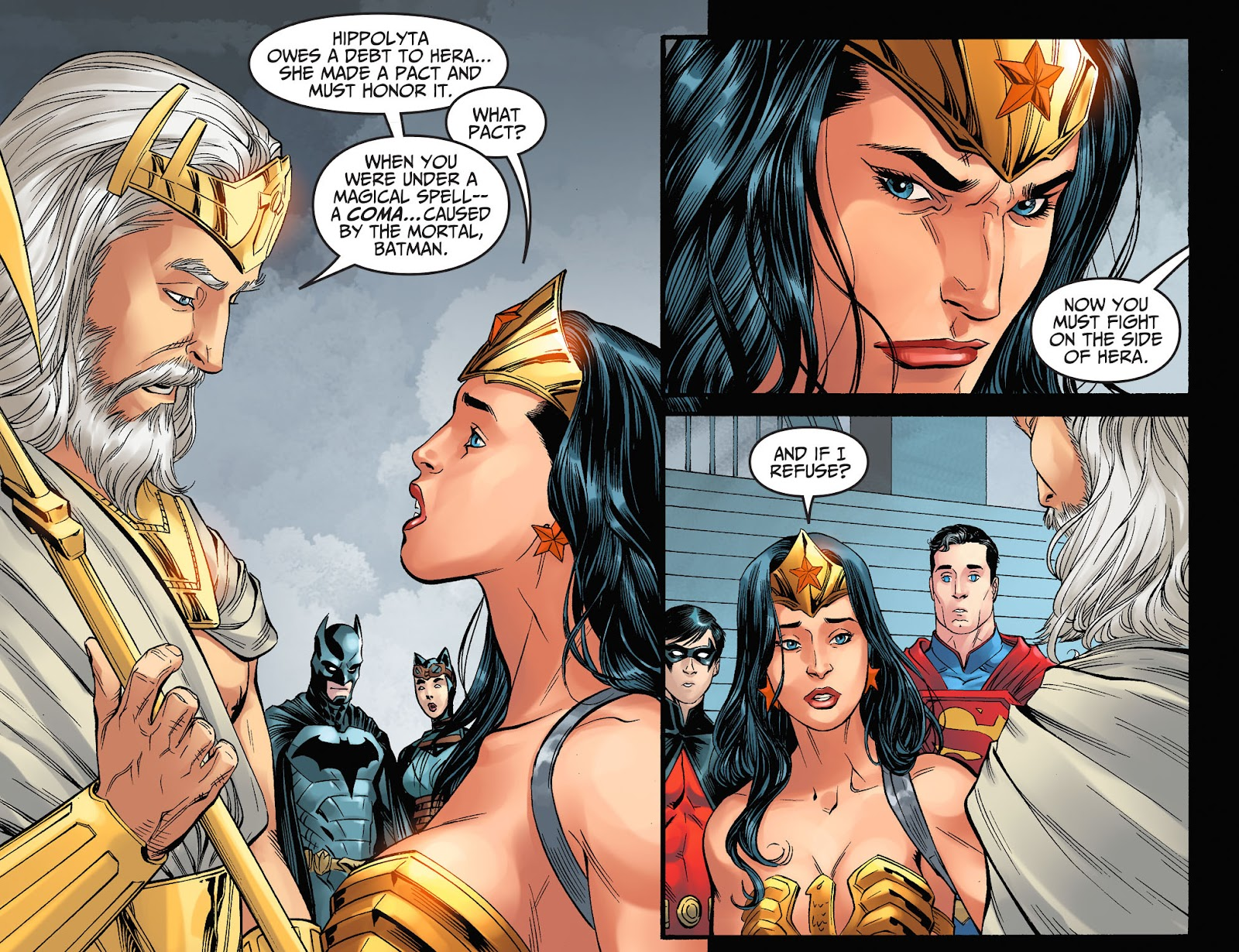 Injustice: Gods Among Us Year Four Issue #8 #9 - English 15