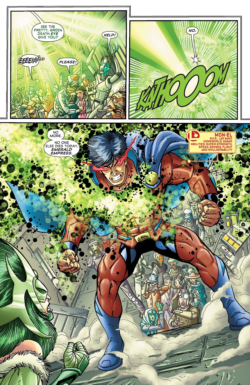 Legion of Super-Heroes (2011) Issue #19 #20 - English 6
