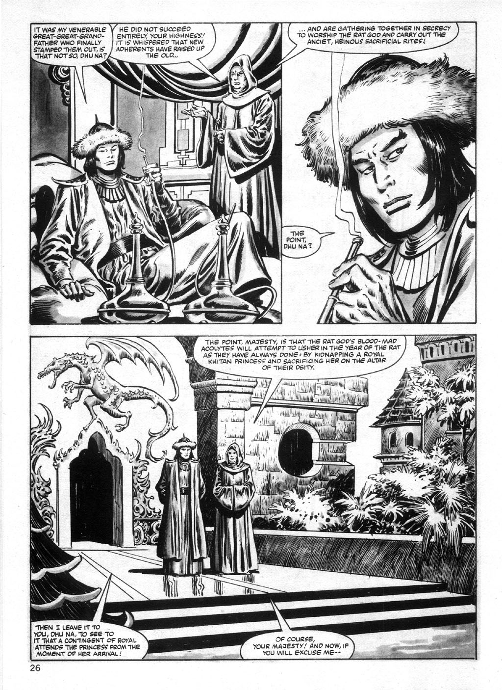 The Savage Sword Of Conan Issue #95 #96 - English 26