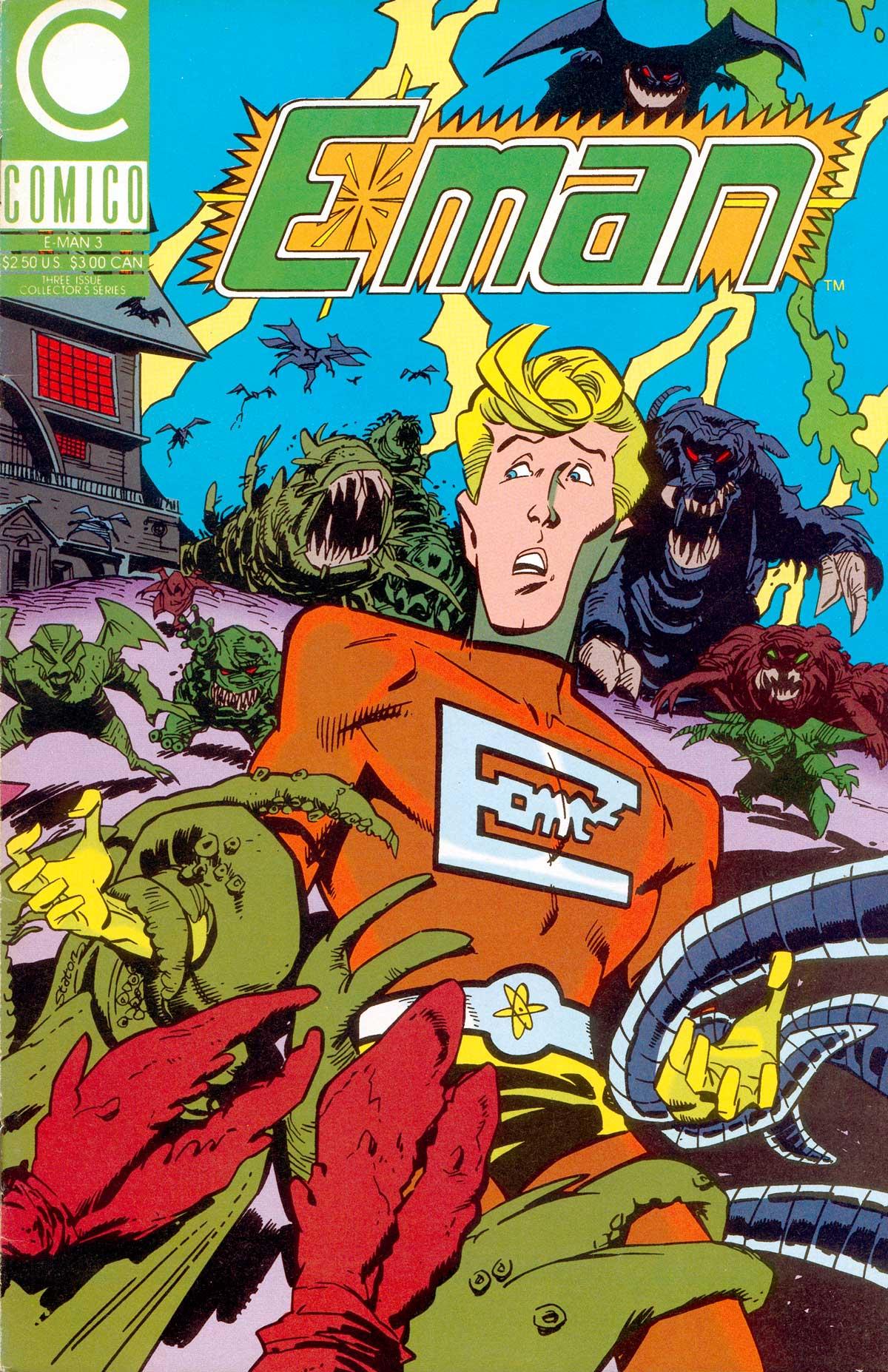 E-Man (1989) 3 Page 1