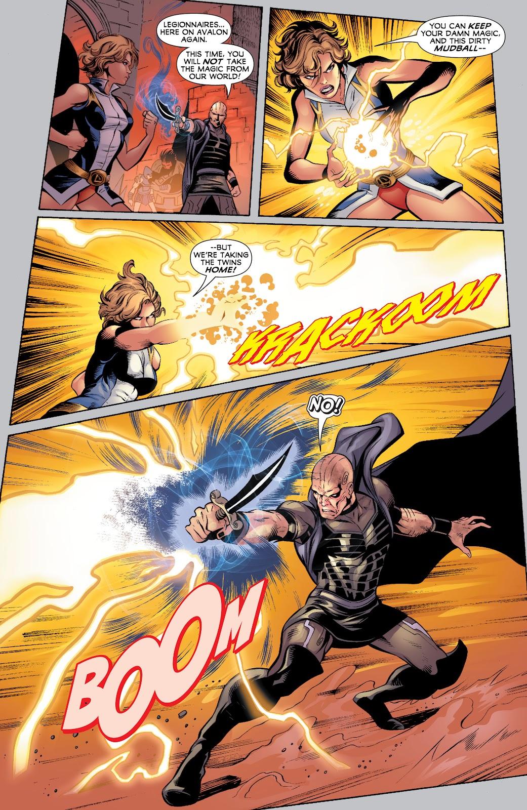 Legion of Super-Heroes (2010) Issue #4 #5 - English 19