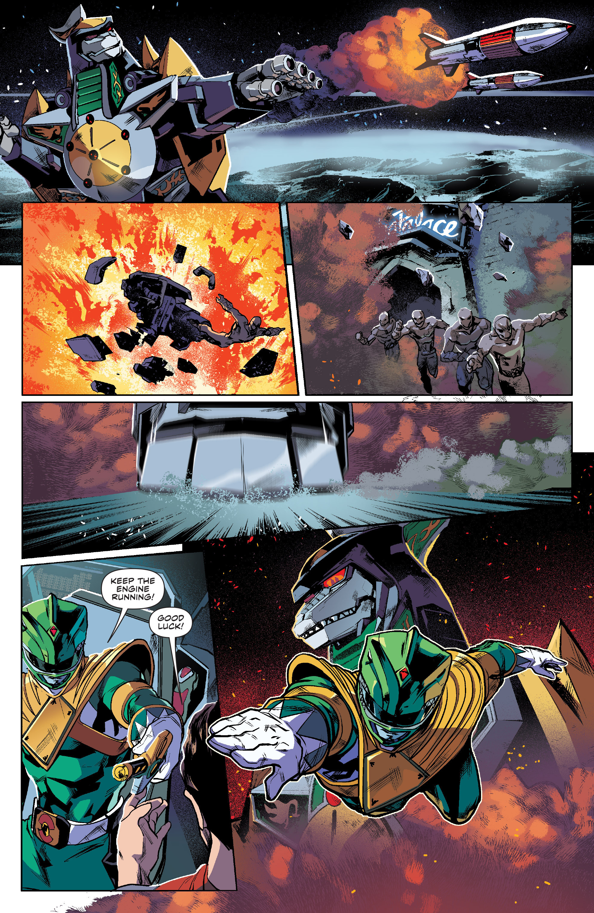 Read online Mighty Morphin Power Rangers comic -  Issue #7 - 16