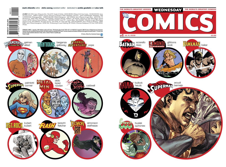 Read online Wednesday Comics comic -  Issue #1 - 1
