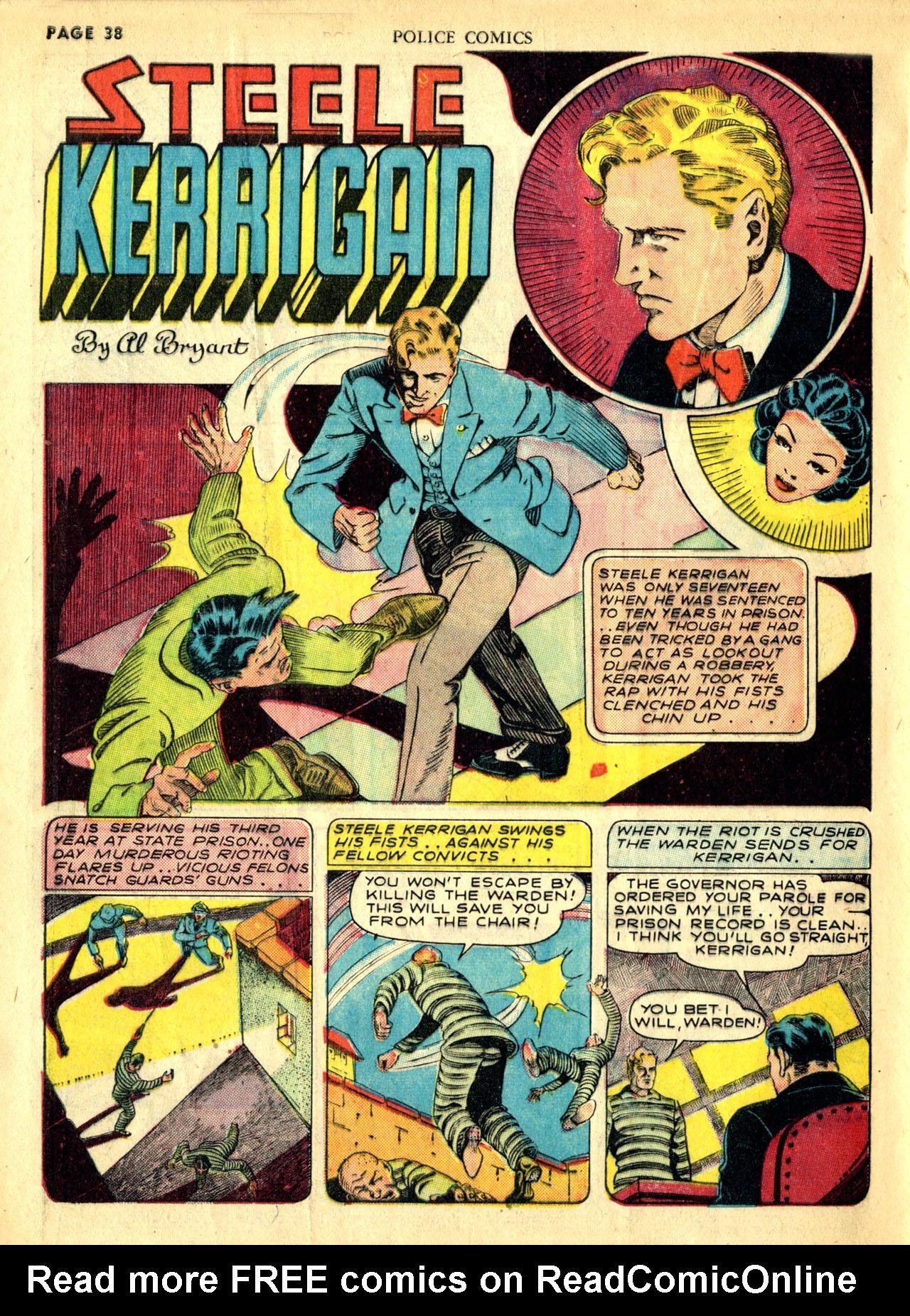 Police Comics #1 #127 - English 41