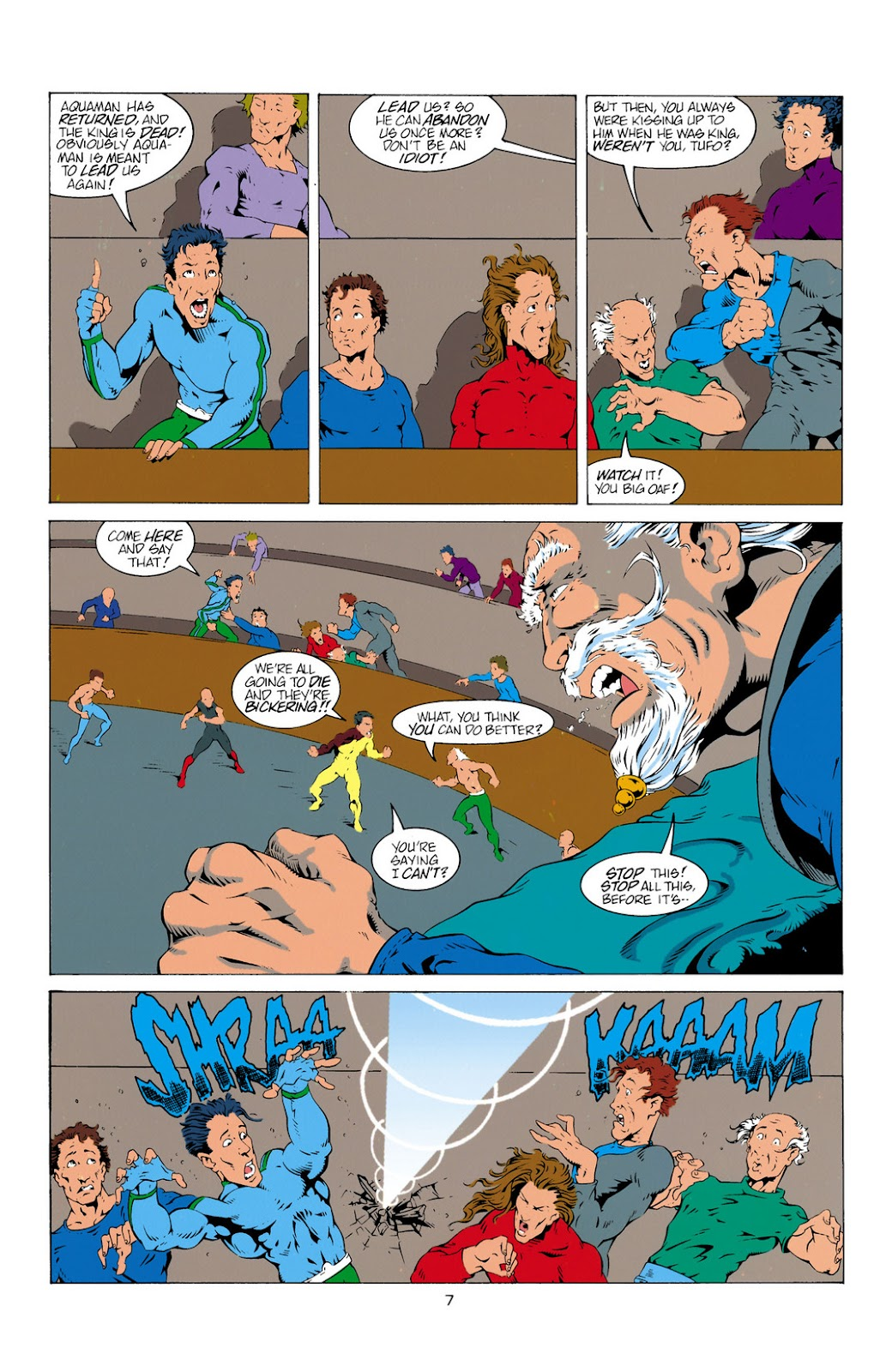 Aquaman (1994) Issue #11 #17 - English 7