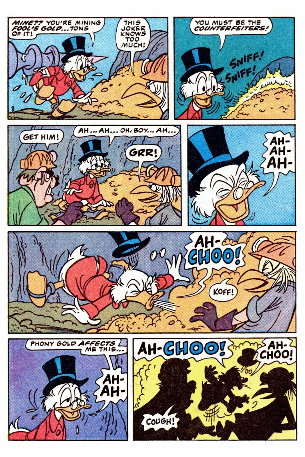 Uncle Scrooge (1953) Issue #202 #202 - English 32