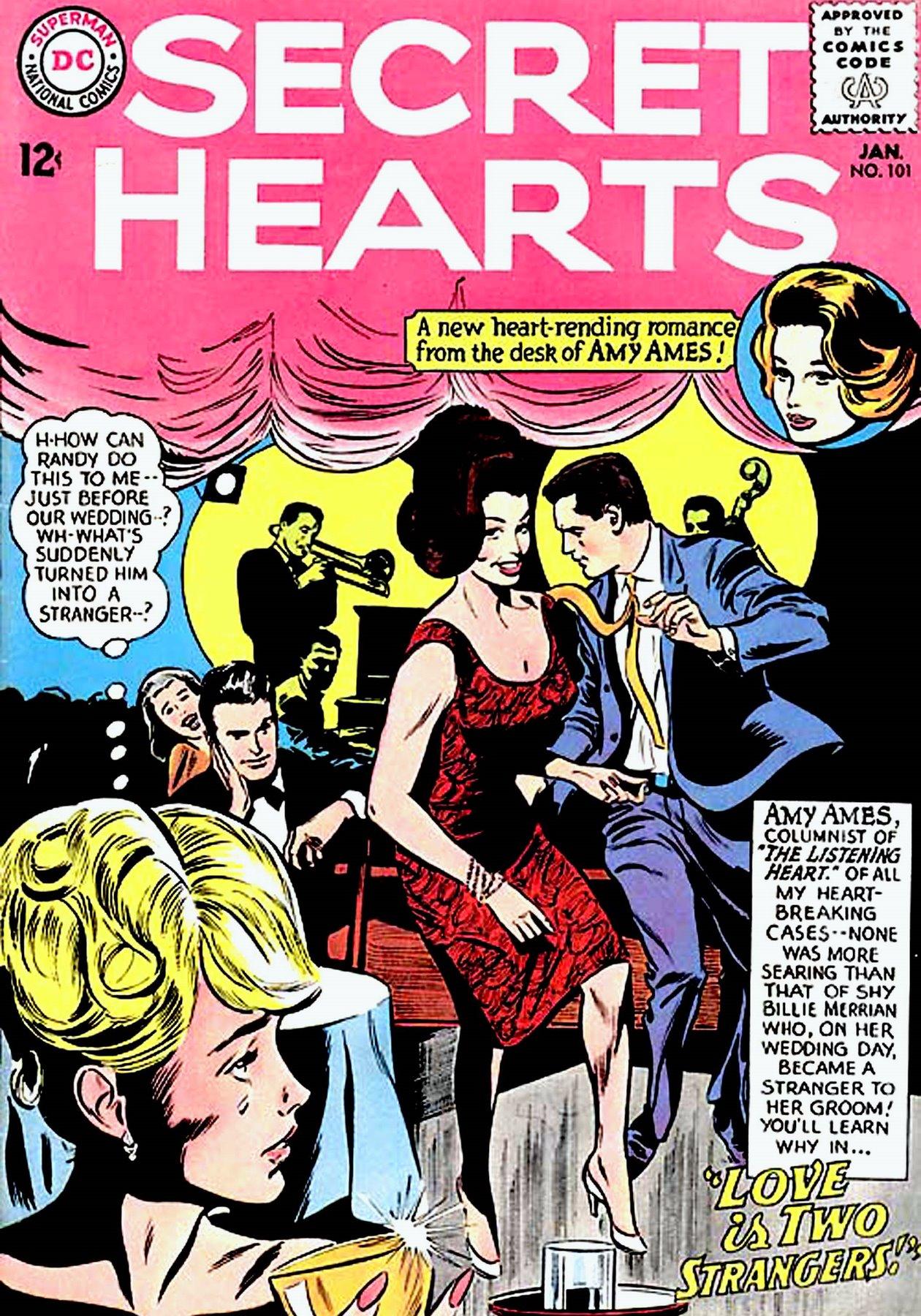 Read online Secret Hearts comic -  Issue #101 - 1