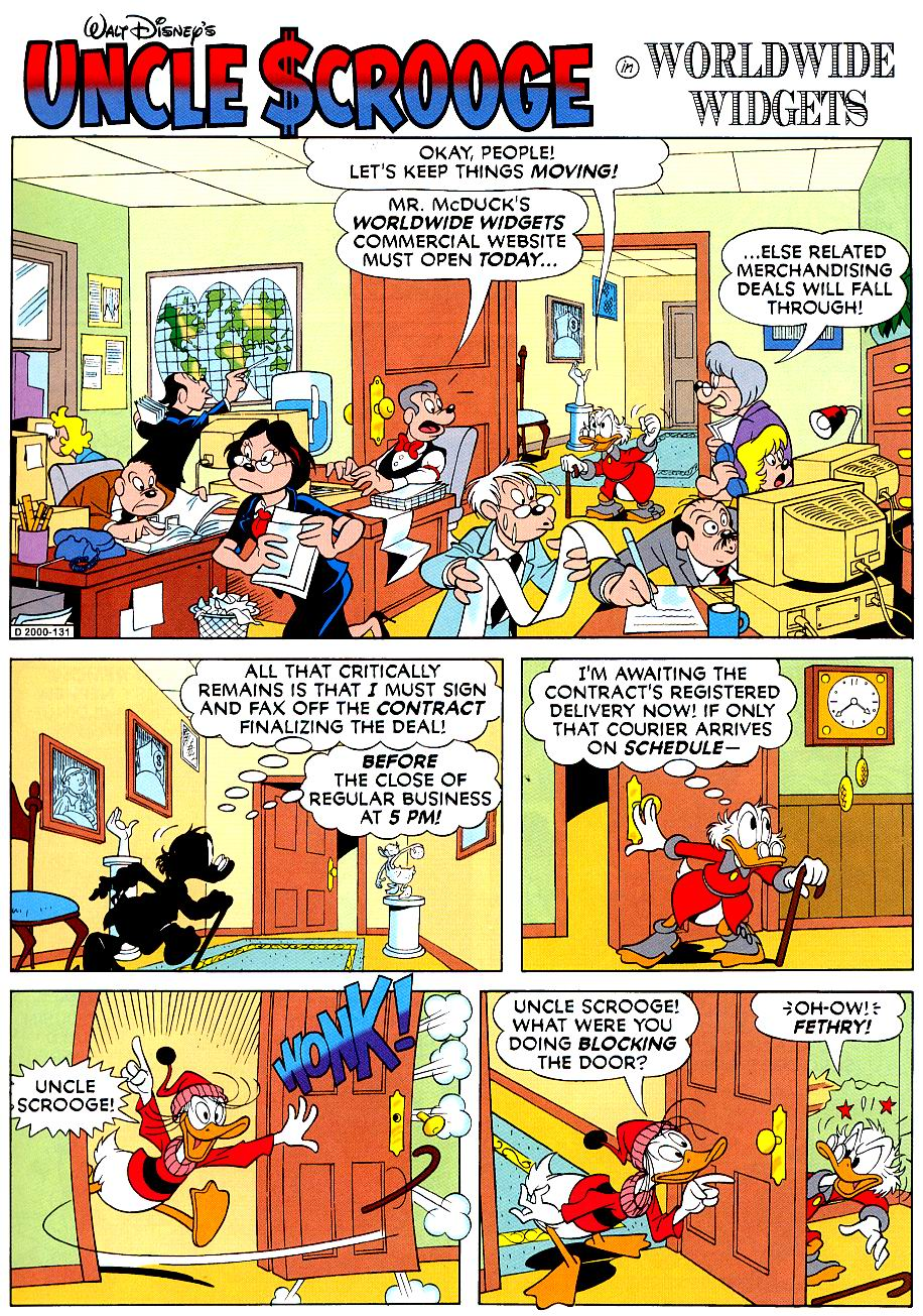 Uncle Scrooge (1953) Issue #319 #319 - English 37