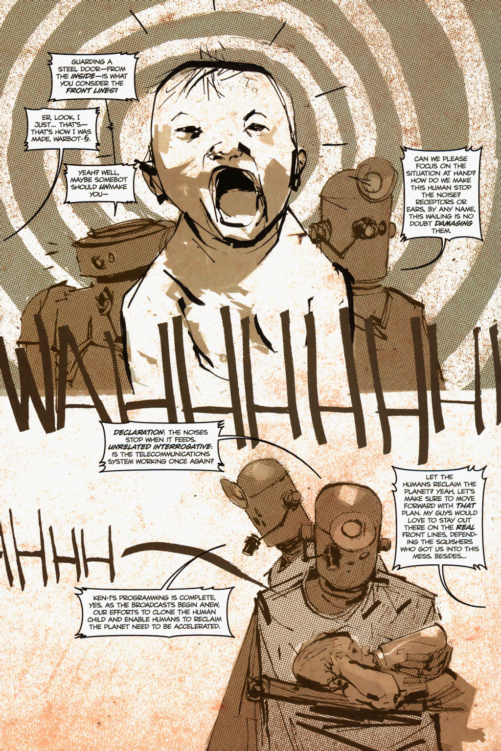 Zombies vs. Robots (2006) Issue #1 Page 14