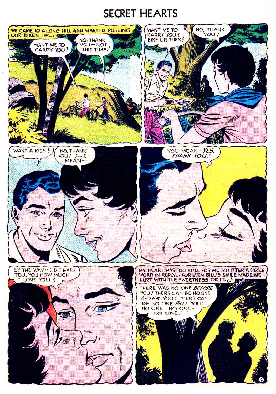 Read online Secret Hearts comic -  Issue #41 - 32